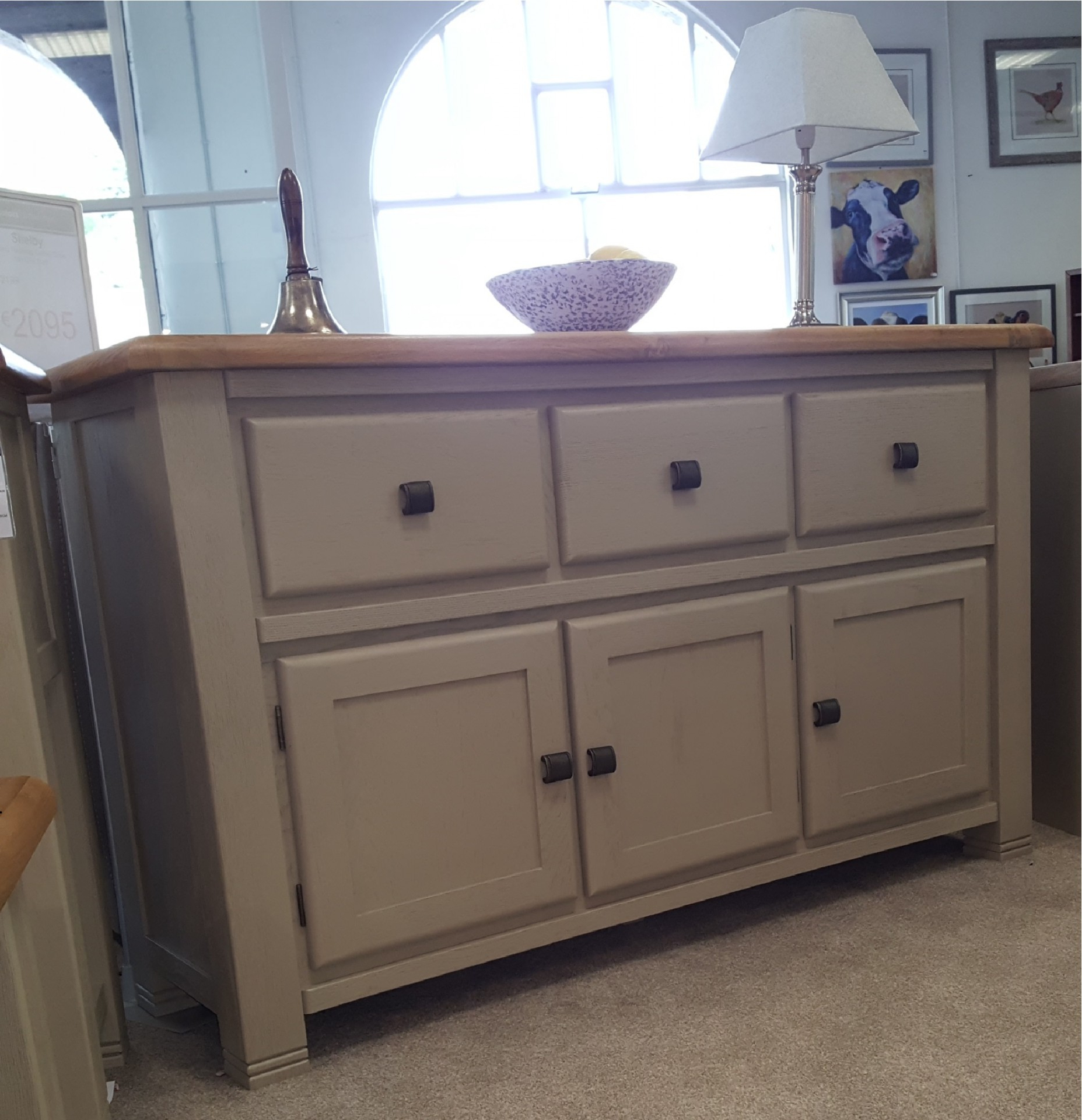 Logan Sideboards Within 2019 Logan 3 Door Sideboard – Upstairs Downstairs (View 11 of 20)