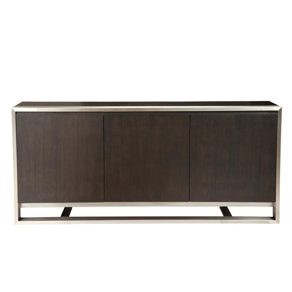 Logan Sideboards Within Most Up To Date Vincent Sideboard Dark Brown – Boulevard Urban Living (Gallery 18 of 20)