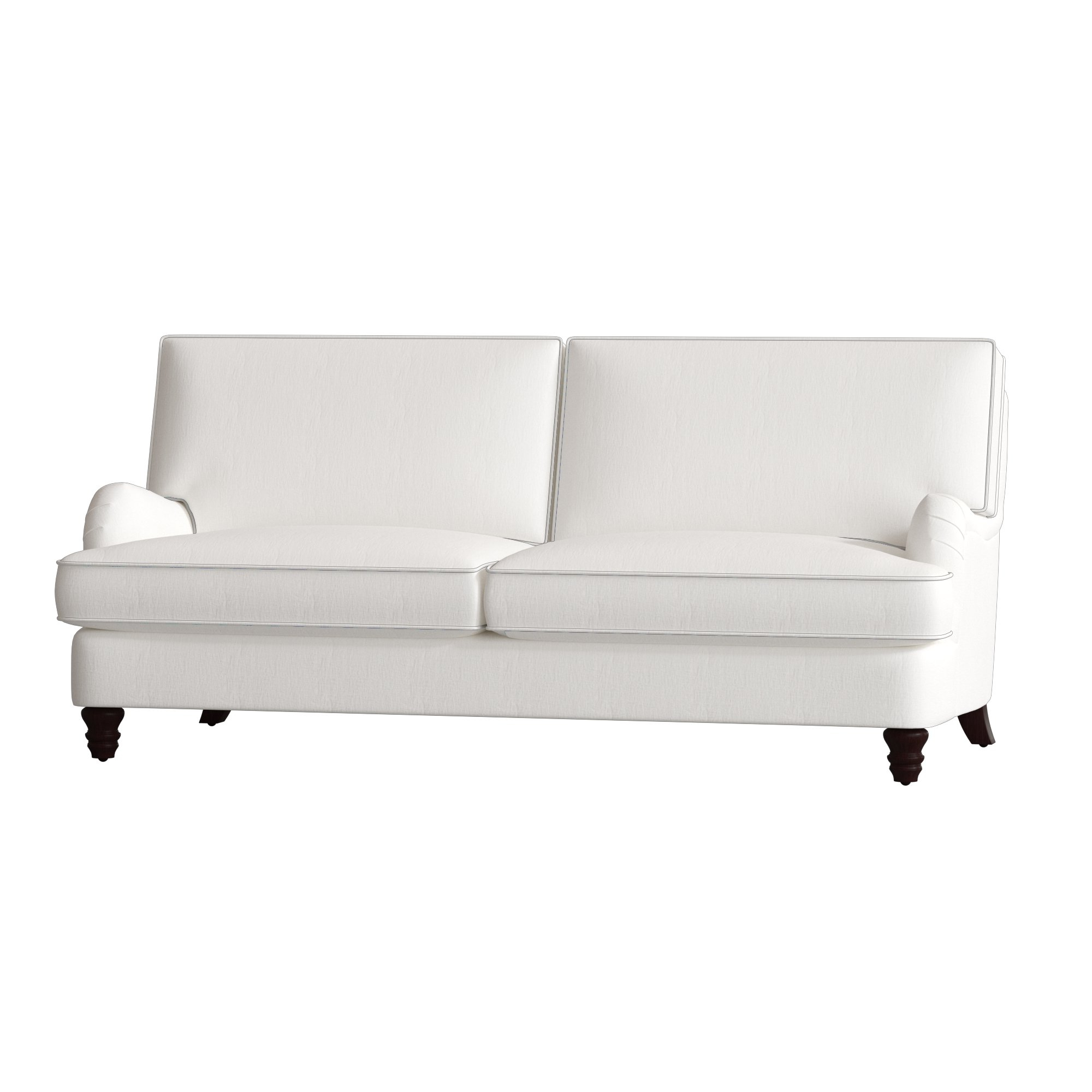 London Optical Reversible Sofa Chaise Sectionals In Trendy Birch Lane™ Montgomery Sofa & Reviews (View 10 of 20)