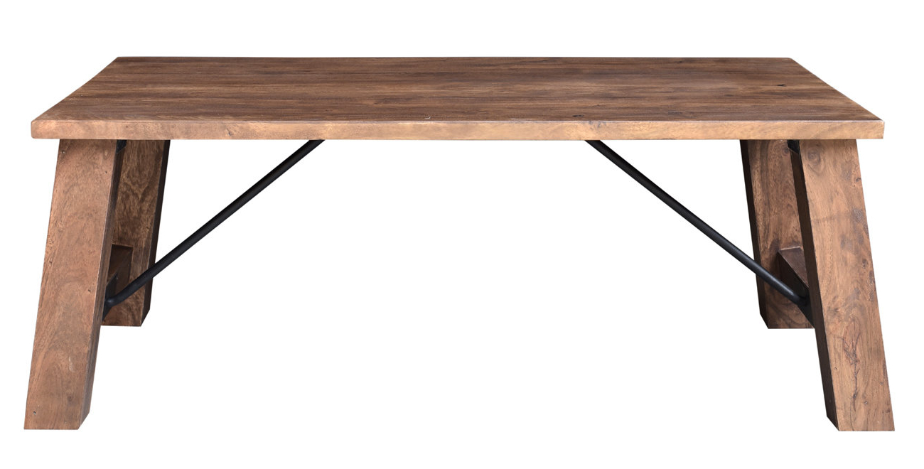 Loon Peak Mill Valley Coffee Table (View 8 of 20)