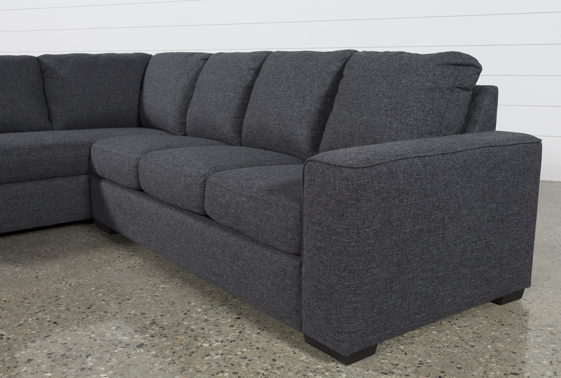 Lucy Dark Grey 2 Piece Sectional W/raf Chaise (View 7 of 20)