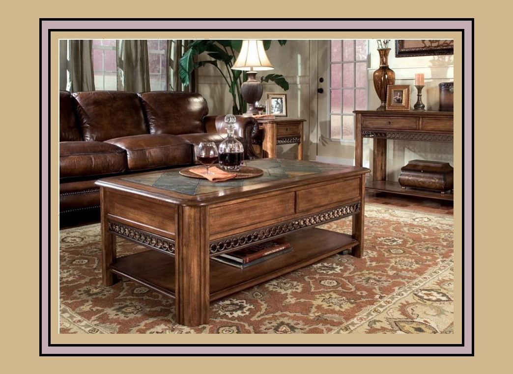 Madison Coffee Table Set – Underhills Regarding Famous Grant Lift Top Cocktail Tables With Casters (View 12 of 20)