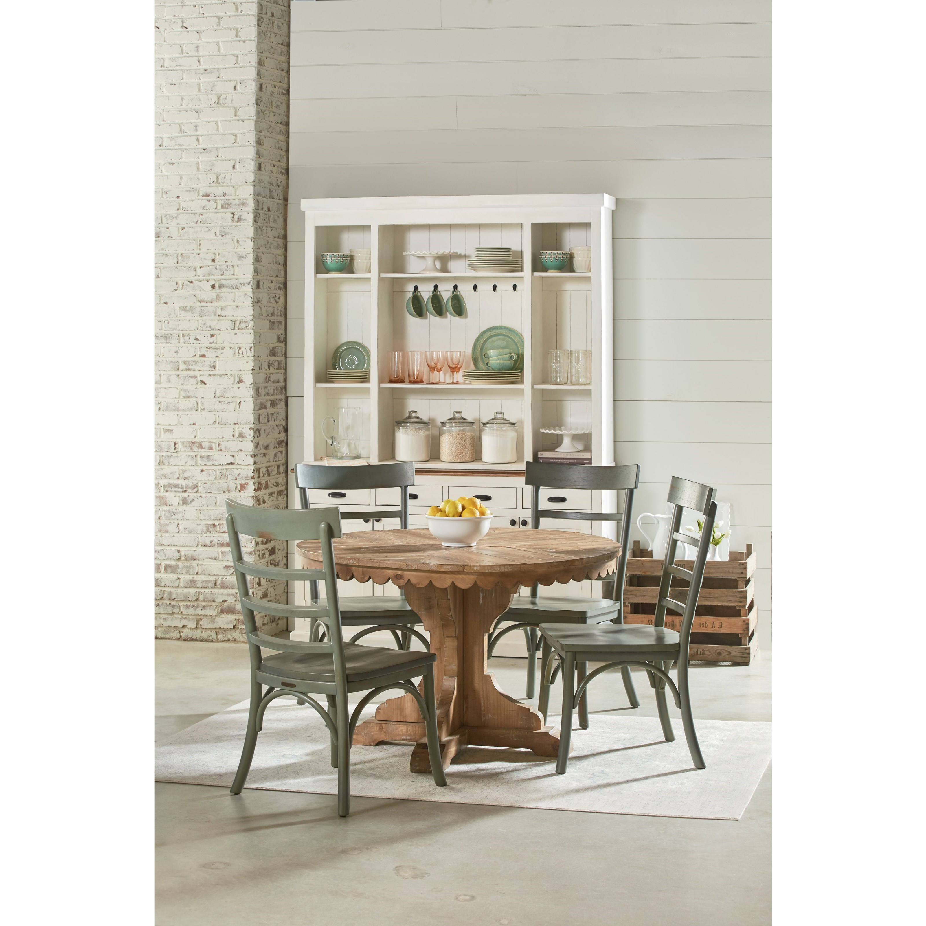 Magnolia Home Ellipse Cocktail Tables By Joanna Gaines With 2019 Round Pedestal Table With Scalloped Apronmagnolia Homejoanna (View 15 of 20)