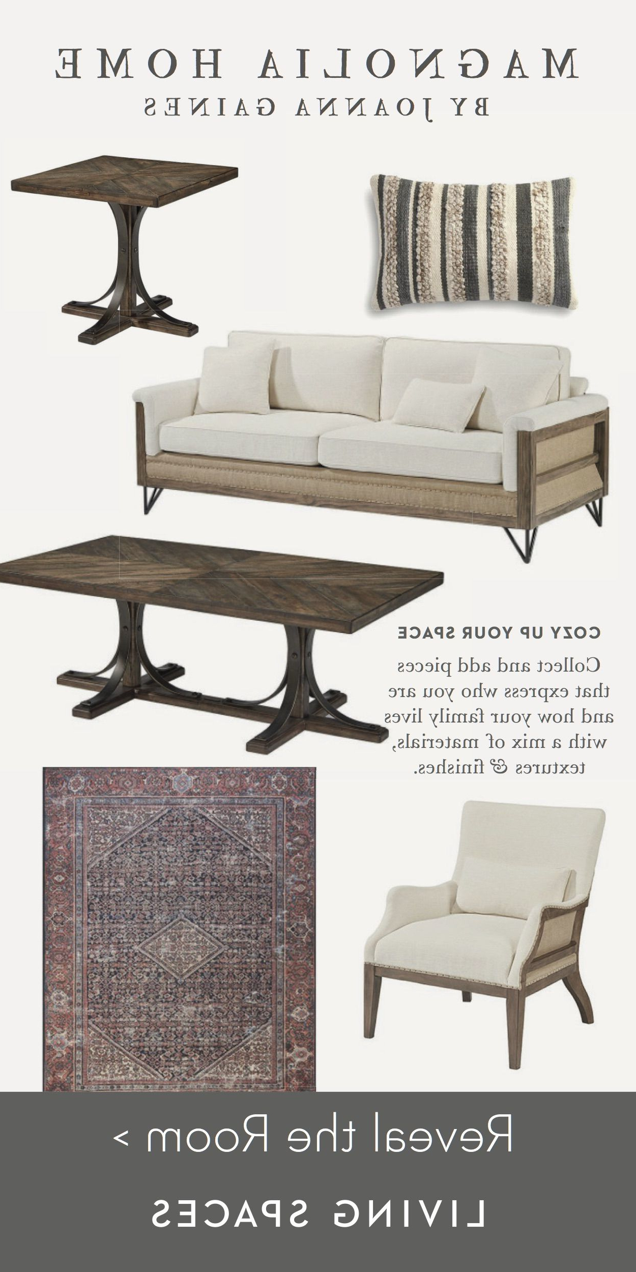Magnolia Home Homestead 3 Piece Sectionals By Joanna Gaines For Well Known Magnolia Homejoanna Gaines (View 11 of 20)