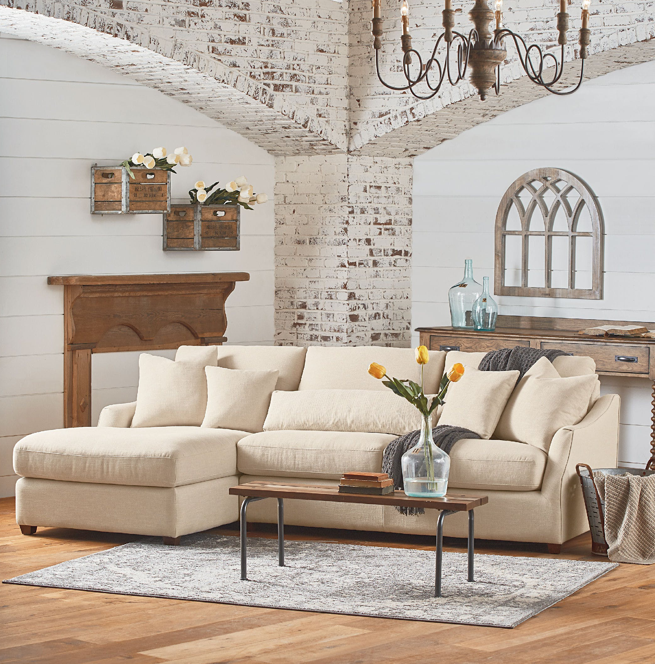 Magnolia Home Homestead 3 Piece Sectionals By Joanna Gaines Intended For Famous Congenial Magnolia Home Furniture Eco Boutique To Reputable Sale (View 12 of 20)