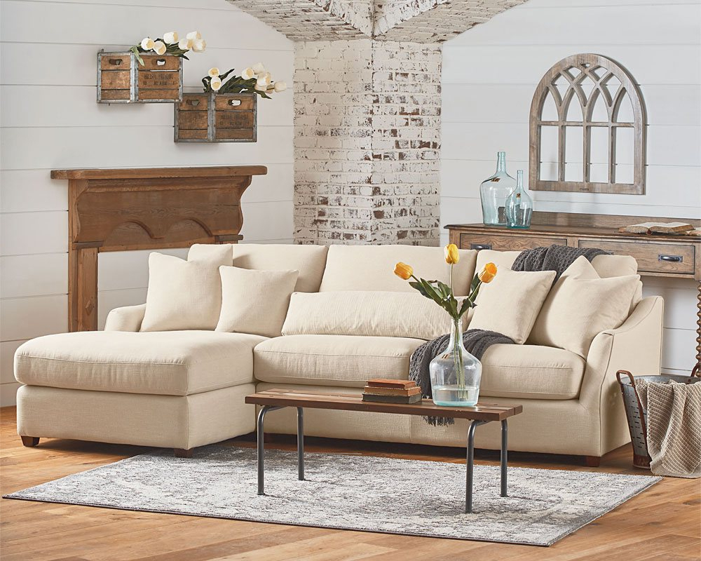 Magnolia Home Homestead + Rustic Plank – Knoxville Wholesale Furniture Pertaining To Well Known Magnolia Home Homestead 4 Piece Sectionals By Joanna Gaines (View 9 of 20)