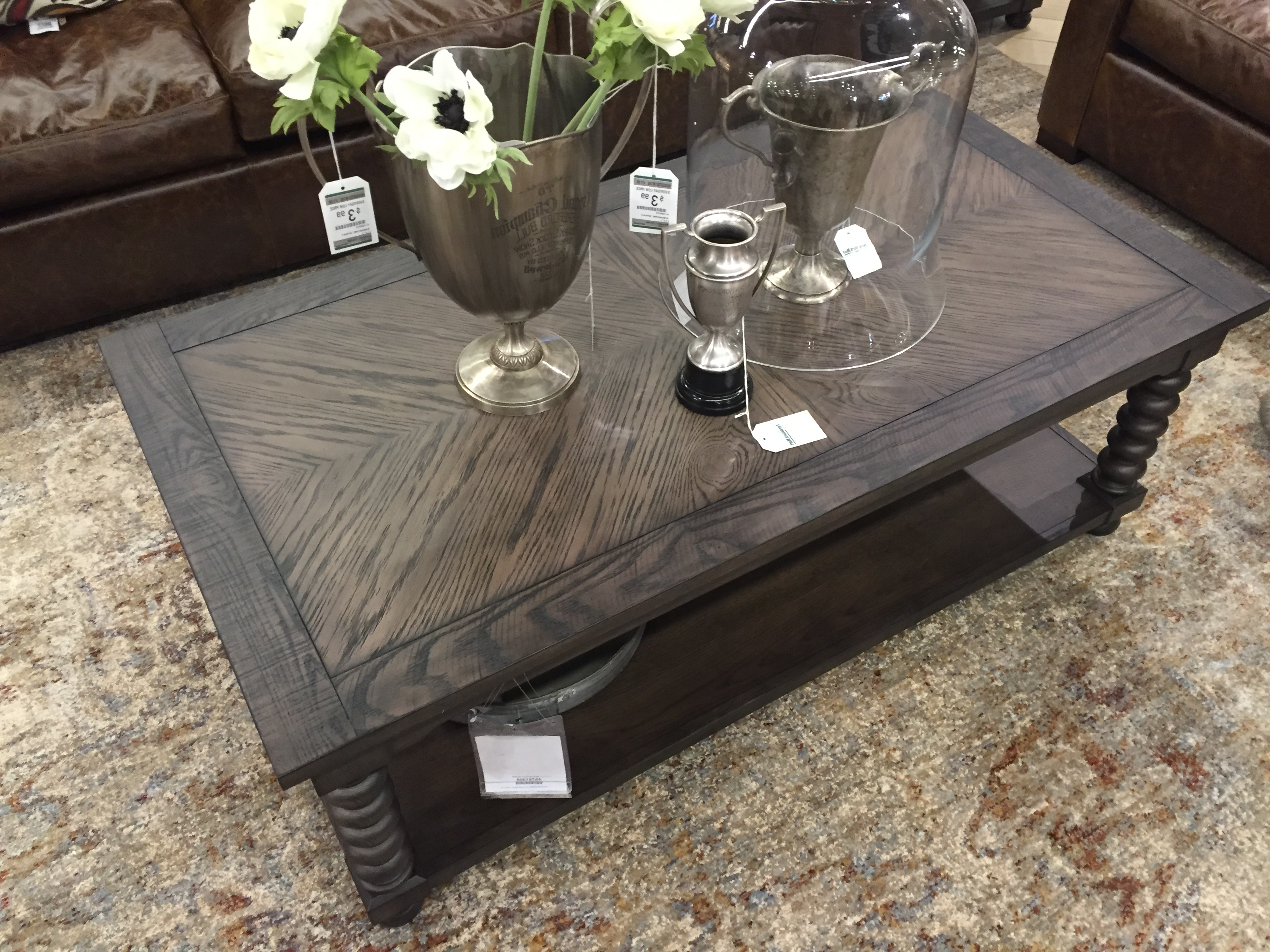 Magnolia Home Sofa Table (View 8 of 20)