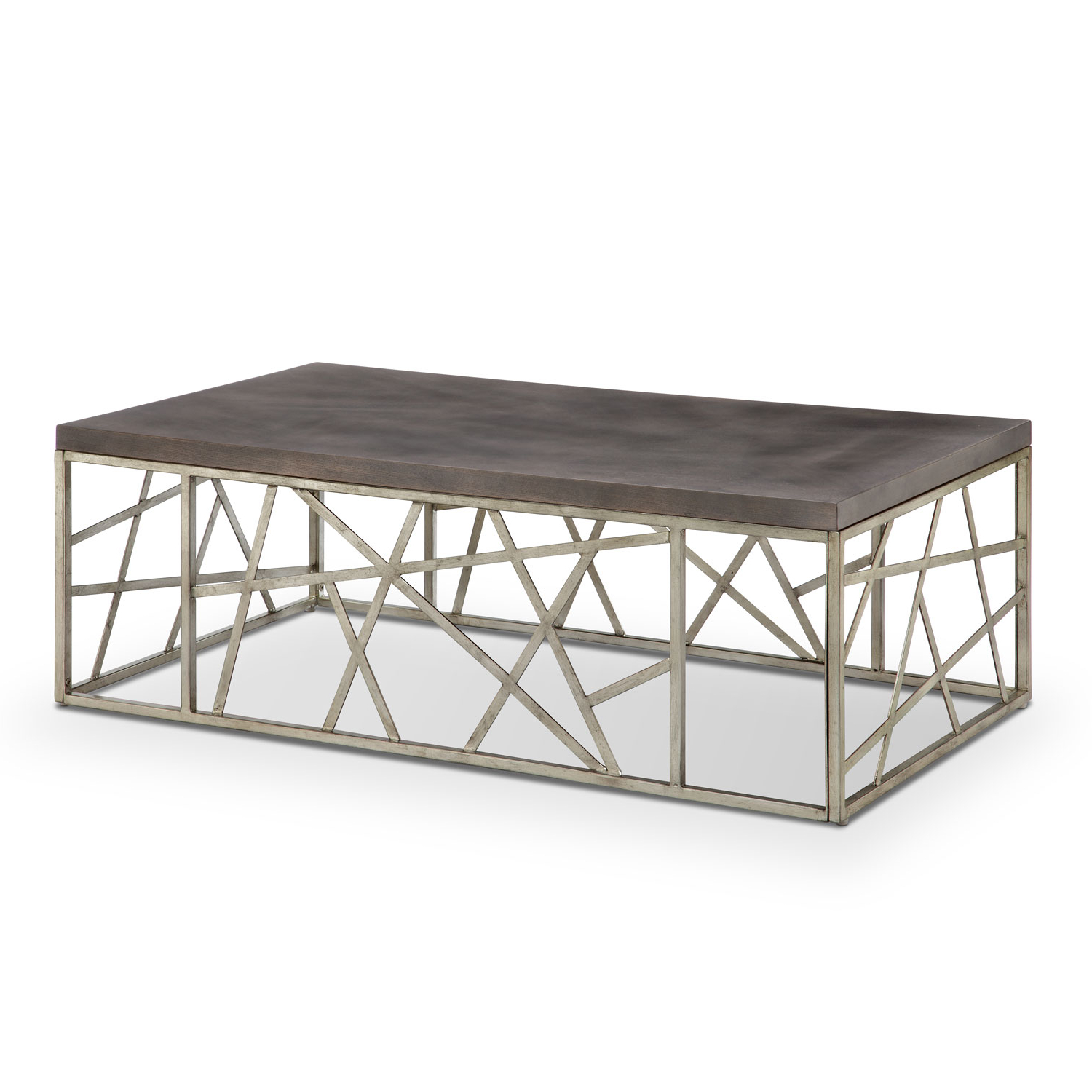 Magnussen Home Tribeca Rectangular Cocktail Table In Distressed With Famous Alton Cocktail Tables (View 11 of 20)