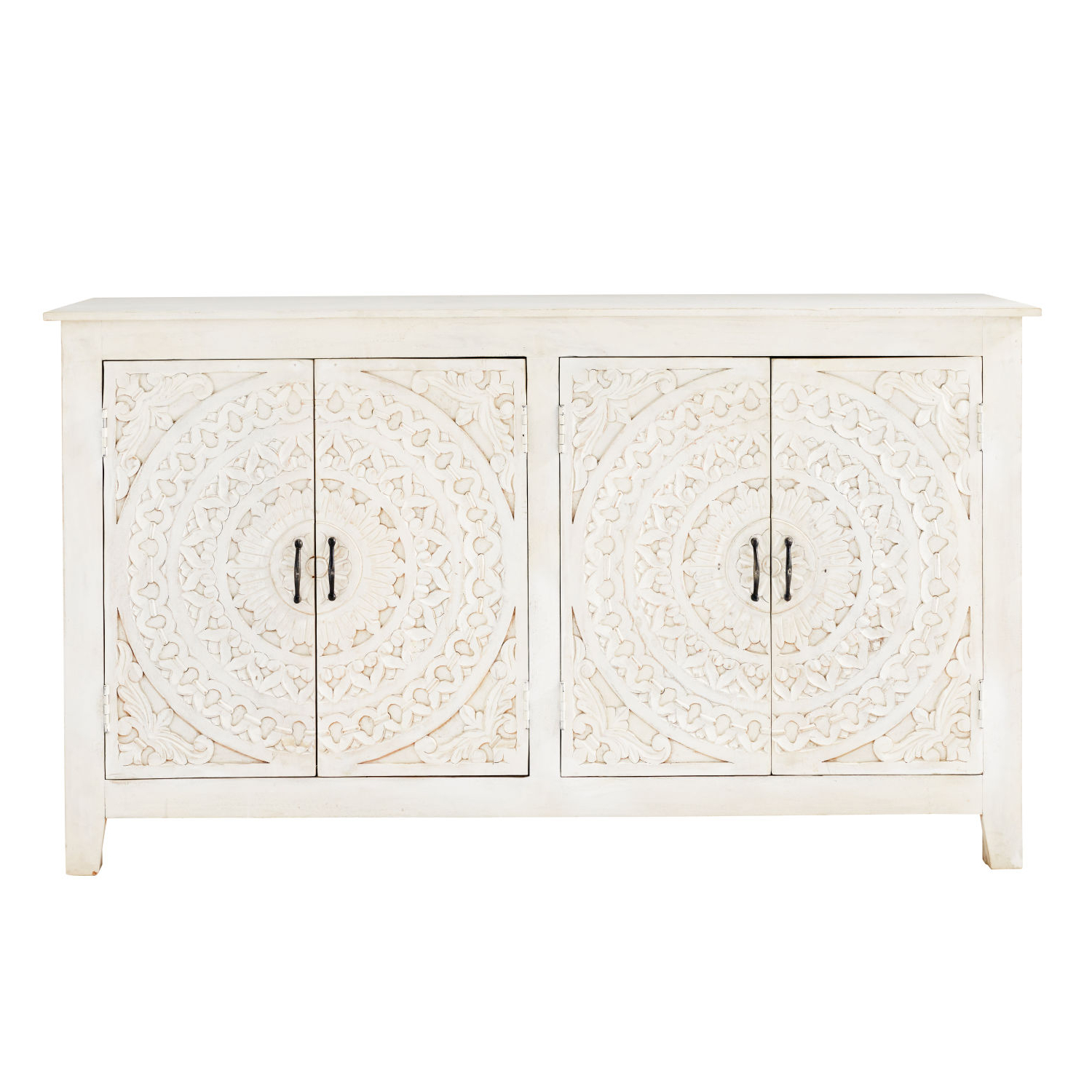 Maisons Du Monde Regarding Newest Carved 4 Door Metal Frame Sideboards (View 4 of 20)
