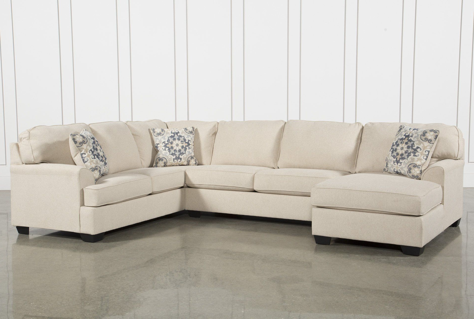 Malbry Point 3 Piece Sectional W/laf Chaise (View 8 of 20)