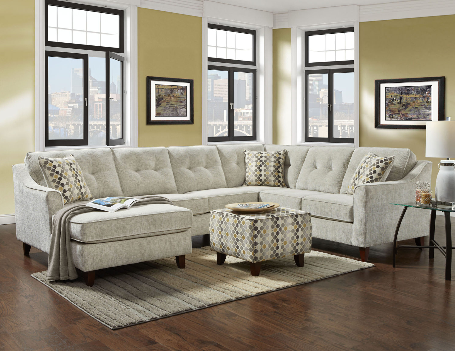 Malbry Point 3 Piece Sectionals With Laf Chaise In Most Up To Date Colby 3 Piece Sectional Dock86 – Locsbyhelenelorasa (View 4 of 20)