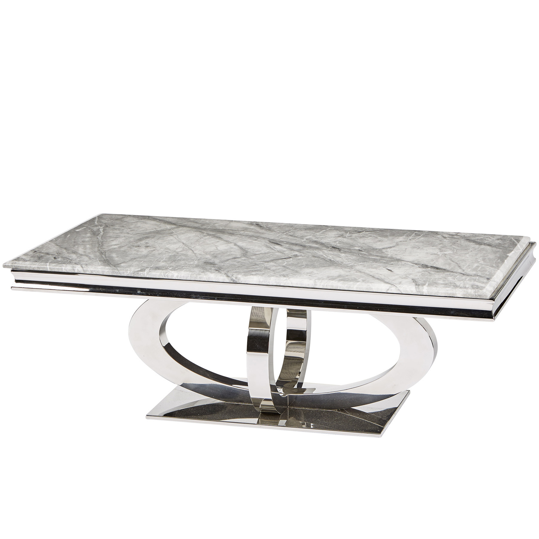 Marble Coffee Tables In Fashionable Oracle Grey Marble Coffee Table (View 9 of 20)