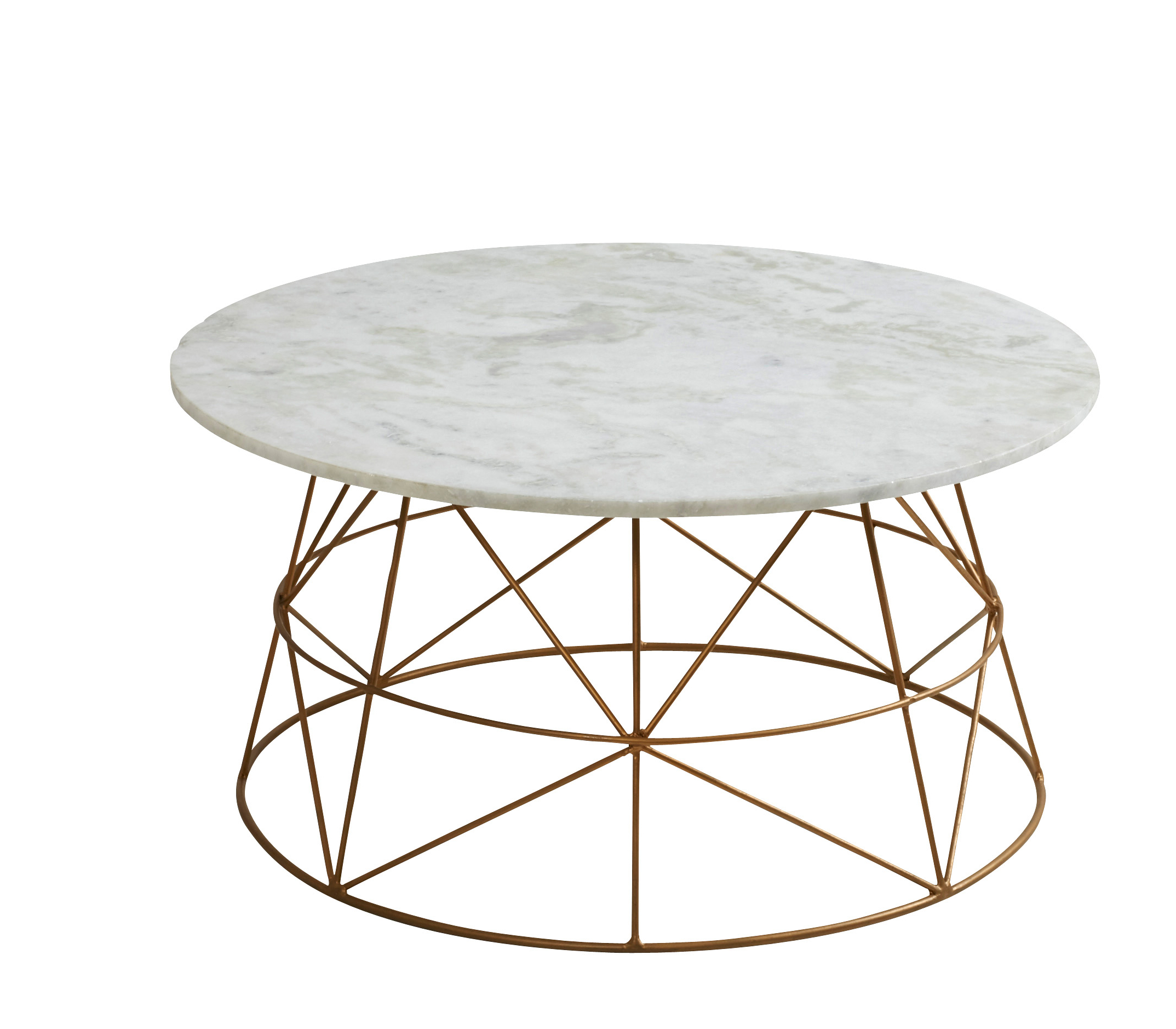 Marble Coffee Tables Pertaining To Well Known Cassian Marble Coffee Table (View 13 of 20)