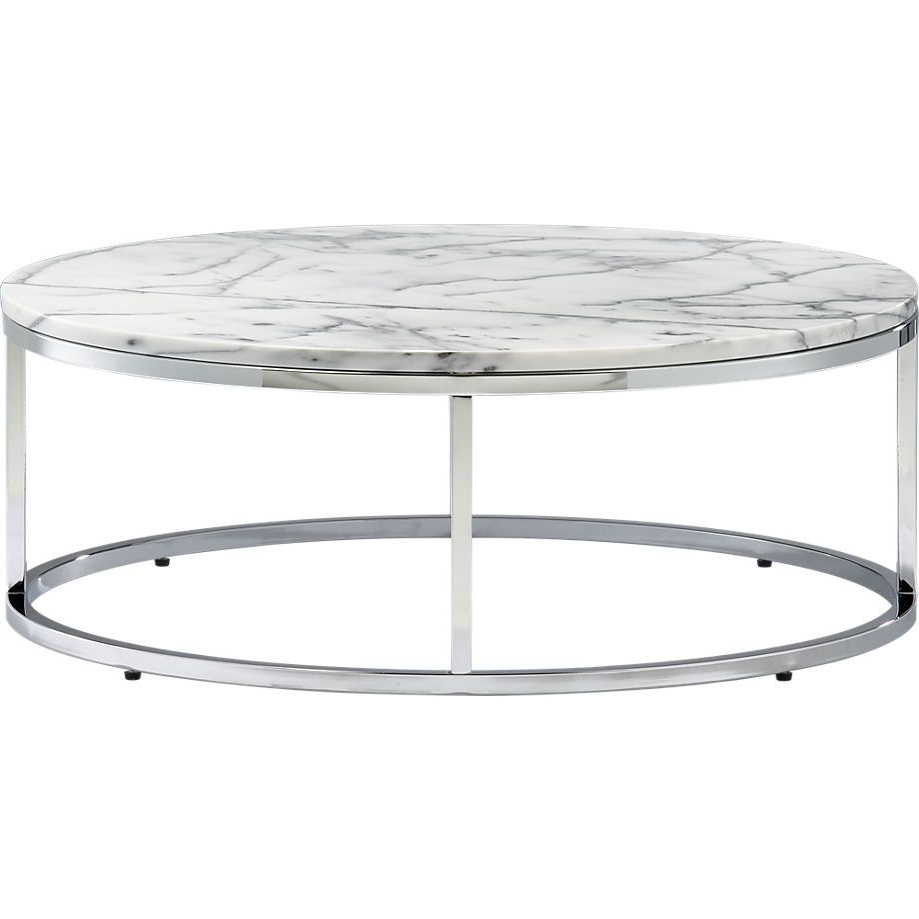 Marble Top Coffee Table (View 4 of 20)