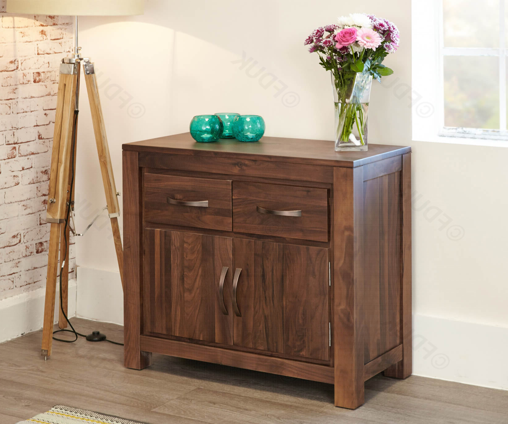 Mayan Walnut Small Sideboard (View 7 of 20)