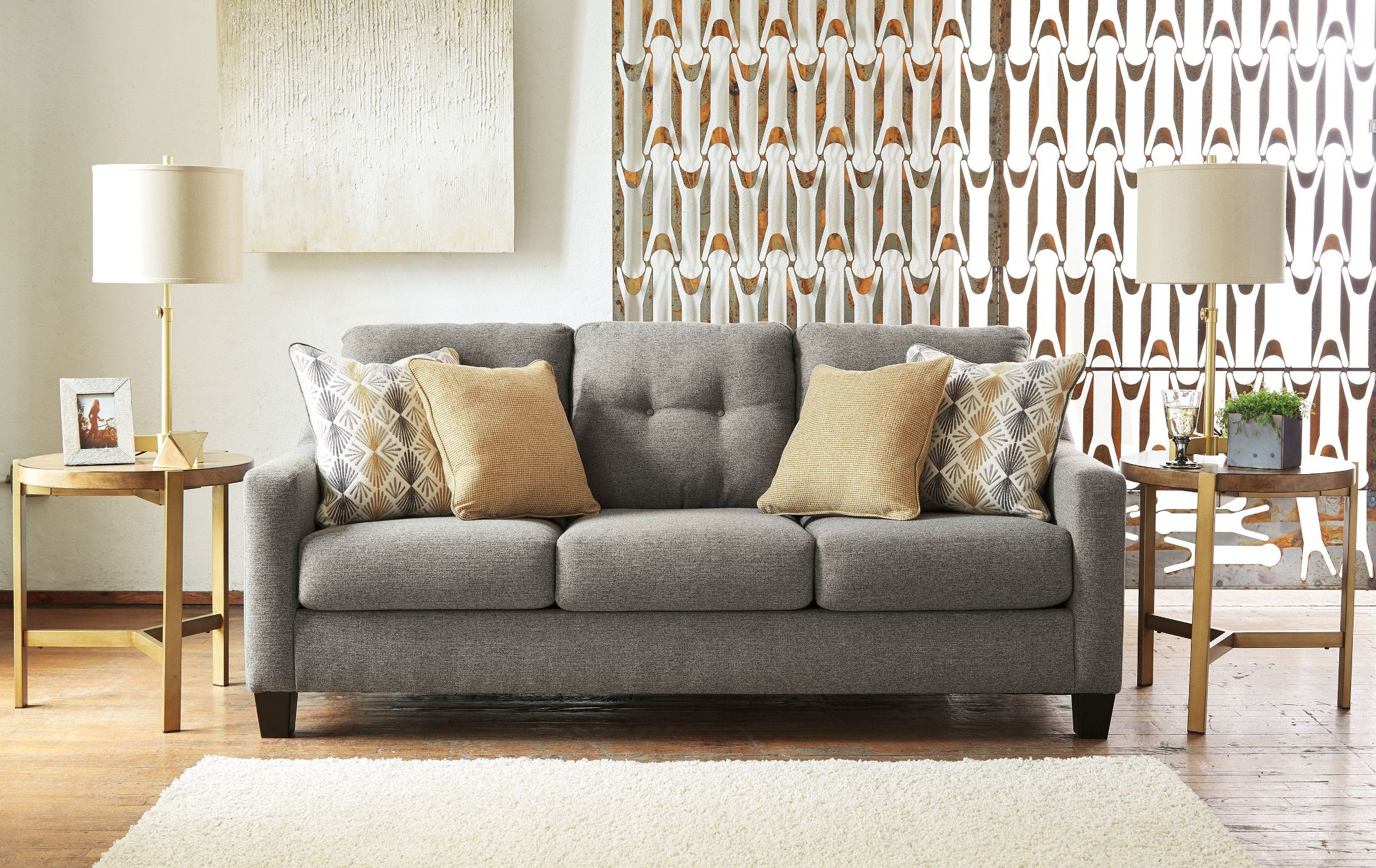 Mcdade Graphite 2 Piece Sectionals With Laf Chaise Within Recent Graphite Sofa (View 16 of 20)