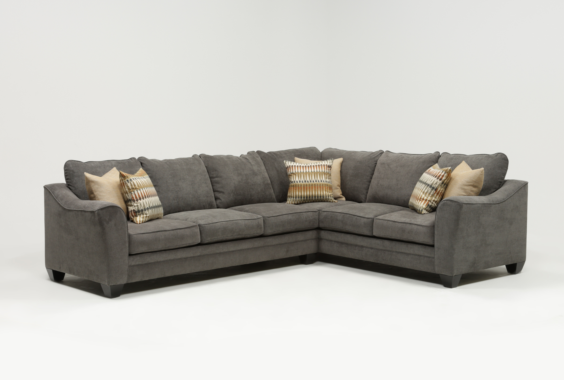 Mesa Foam 2 Piece Sectional (View 15 of 20)