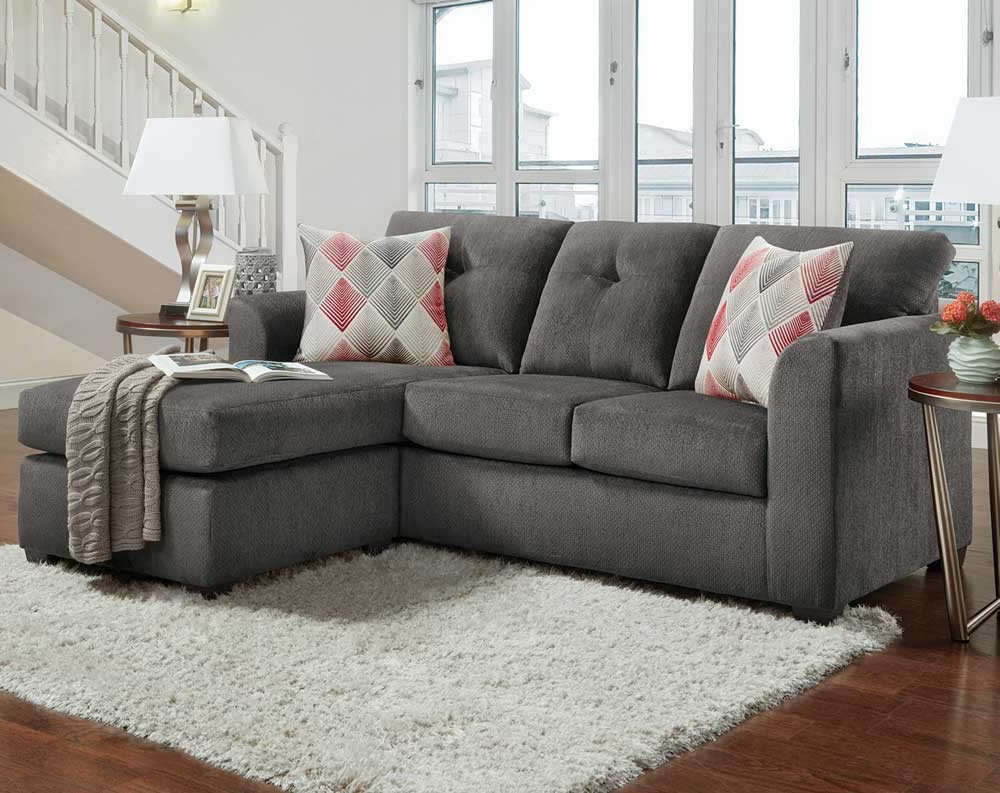 Mesa Foam 2 Piece Sectionals With Regard To Preferred Kelly Gray 2 Pc (View 11 of 20)