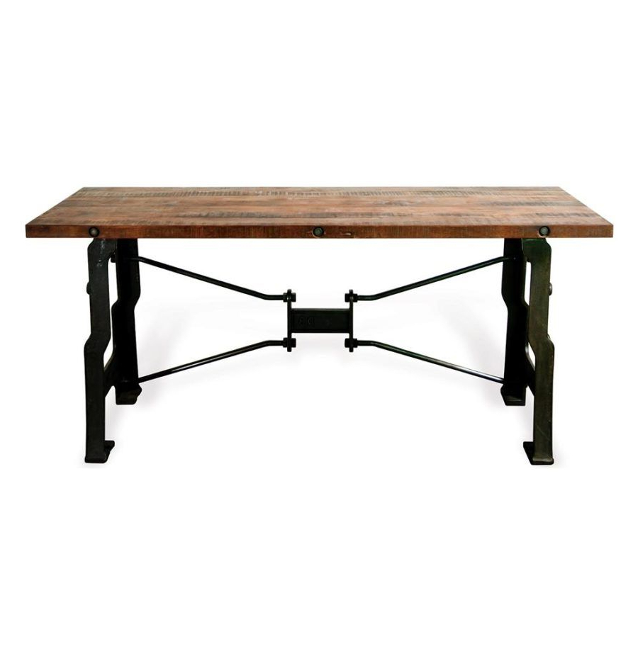 Mesa Throughout Most Popular Reclaimed Elm Cast Iron Coffee Tables (Gallery 12 of 20)