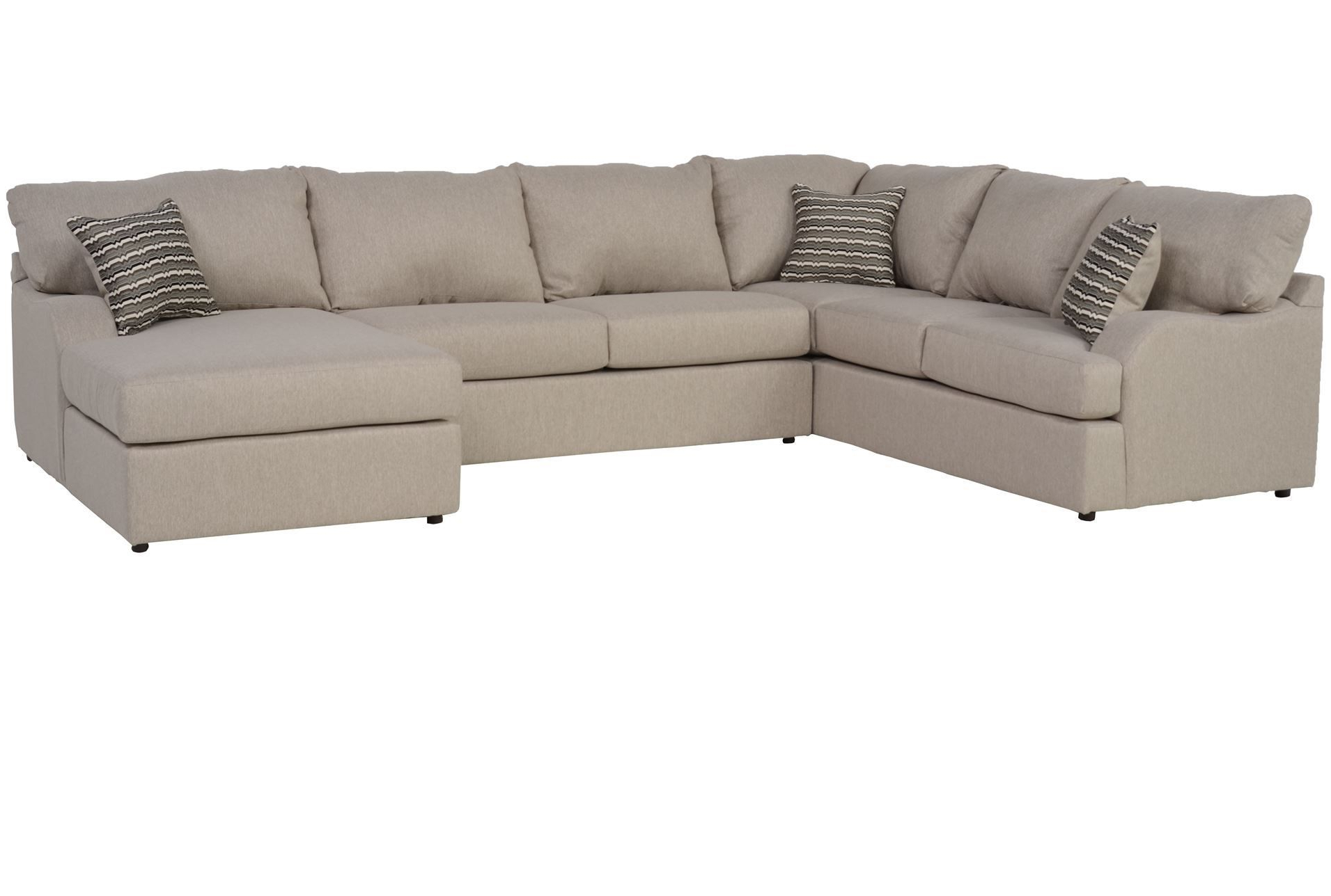 Meyer 3 Piece Sectional W/raf Chaise (View 9 of 20)