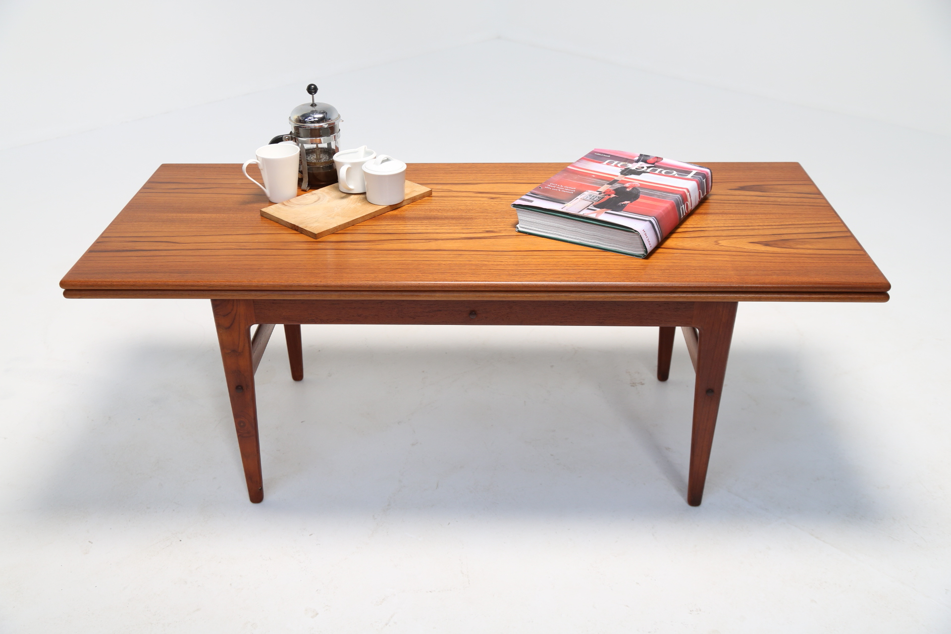 Mid Century Danish Dining Tablekai Kristiansen With Regard To Well Known Kai Small Coffee Tables (View 15 of 20)