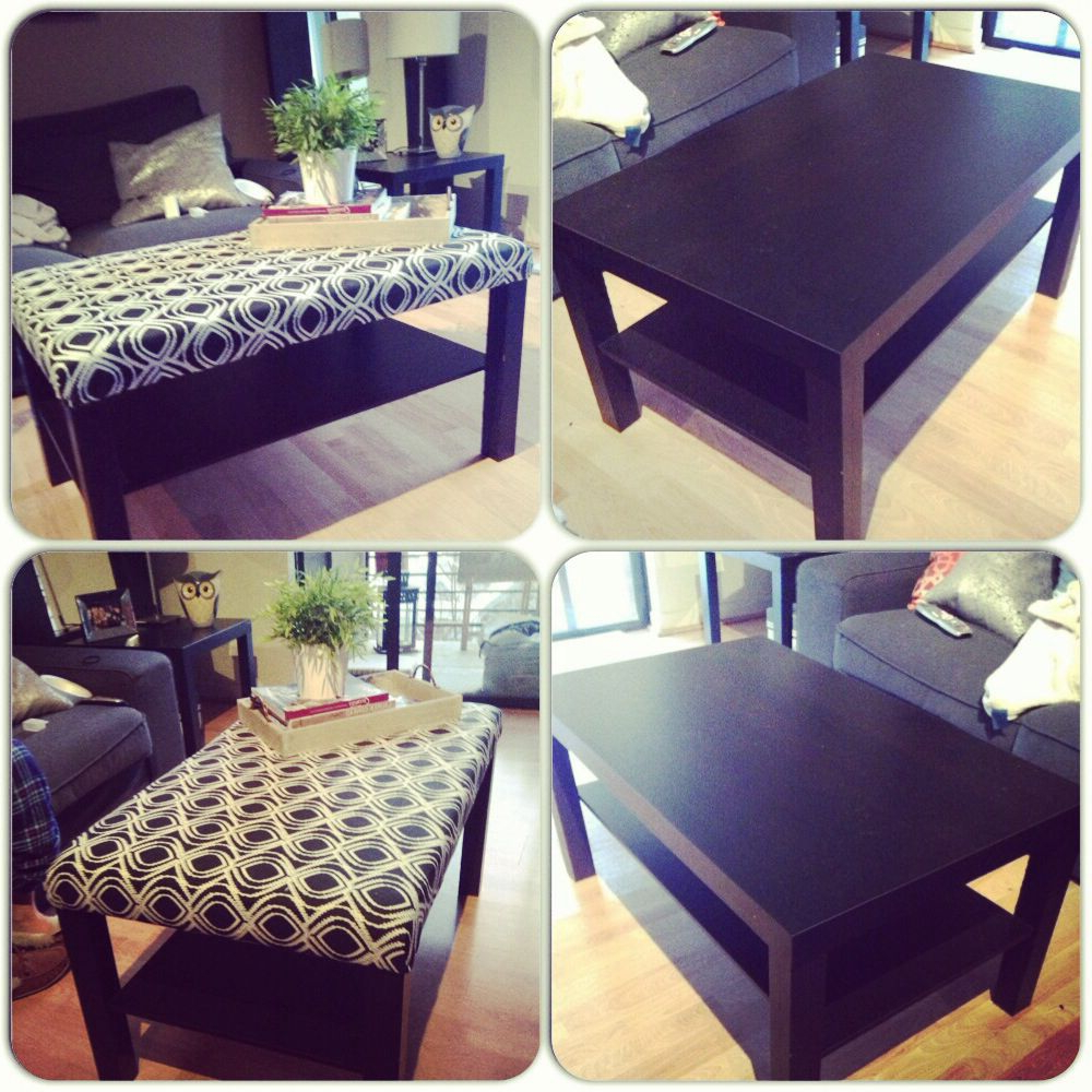 Mill Large Leather Coffee Tables Intended For Well Known Diy Ikea Coffee Table Turned Ottoman (View 12 of 20)