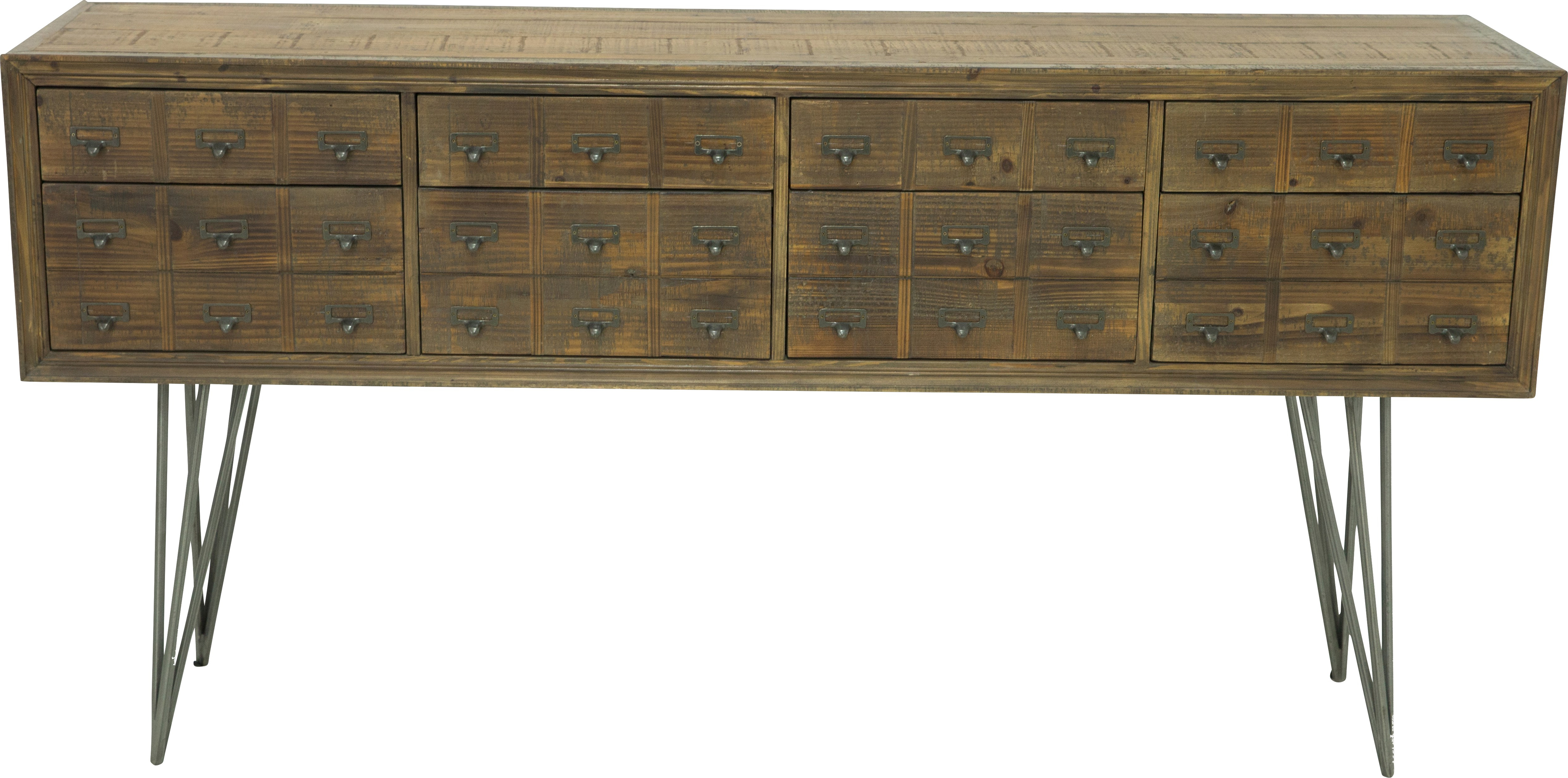 Millview Brown Sideboard – Servers Dark Wood Regarding Widely Used Reclaimed Elm 71 Inch Sideboards (View 4 of 20)