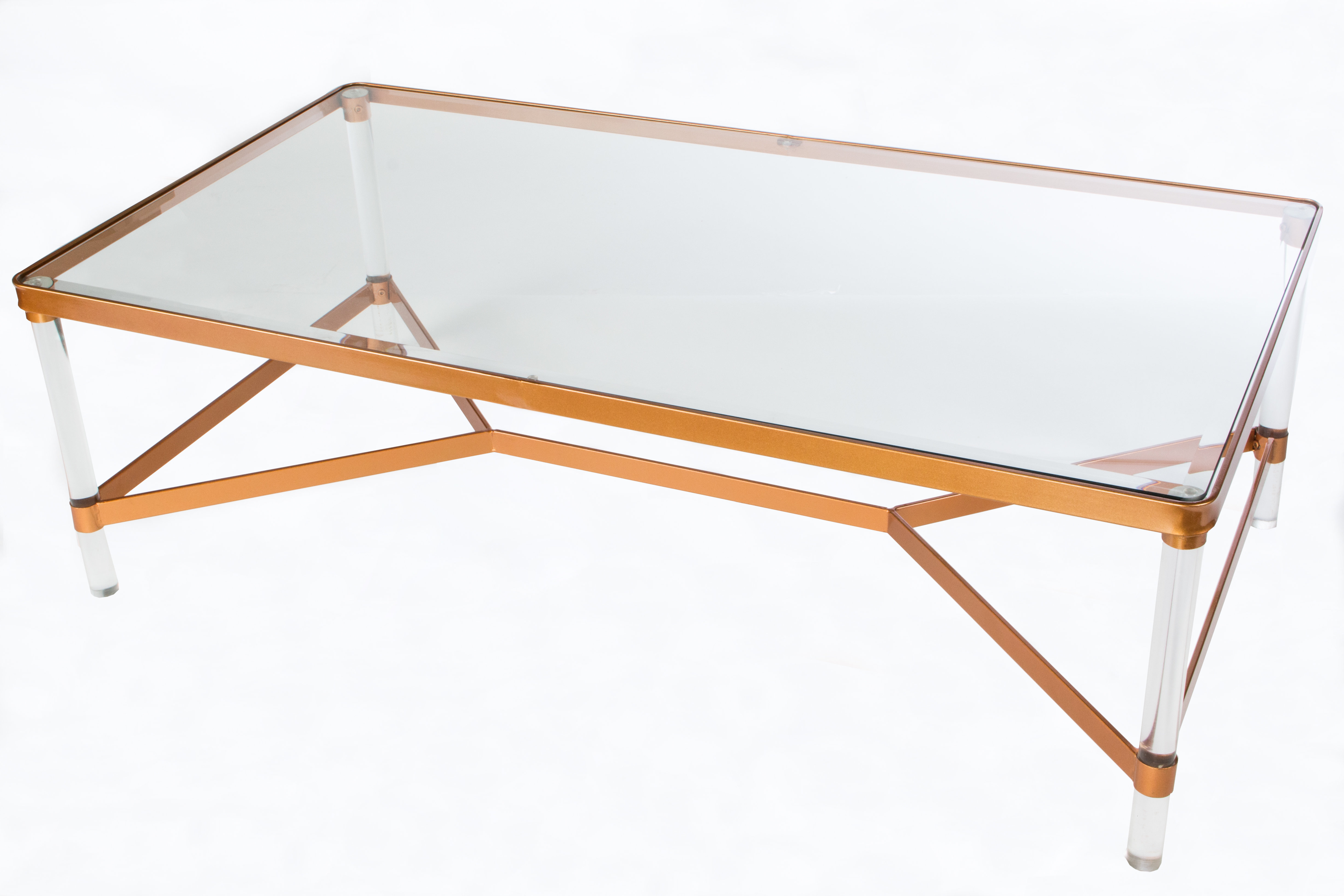 Mireille Acrylic Coffee Table In Most Popular Peekaboo Acrylic Coffee Tables (View 9 of 20)
