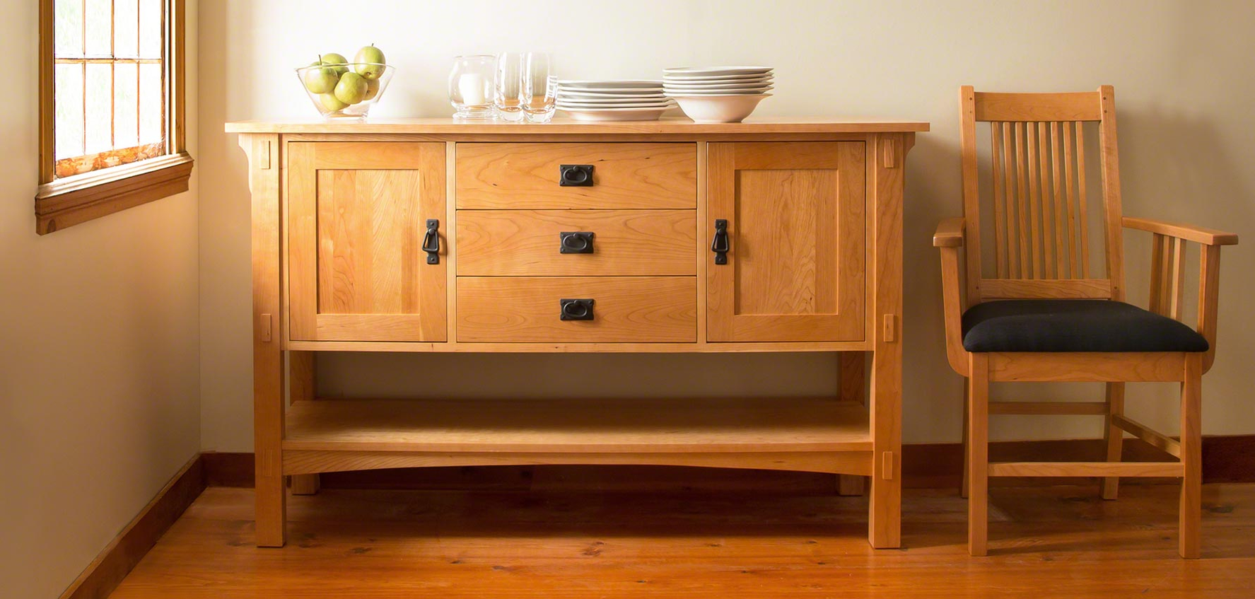 Mission & Craftsman Buffets – Vermont Woods Studios In Favorite Craftsman Sideboards (Gallery 9 of 20)
