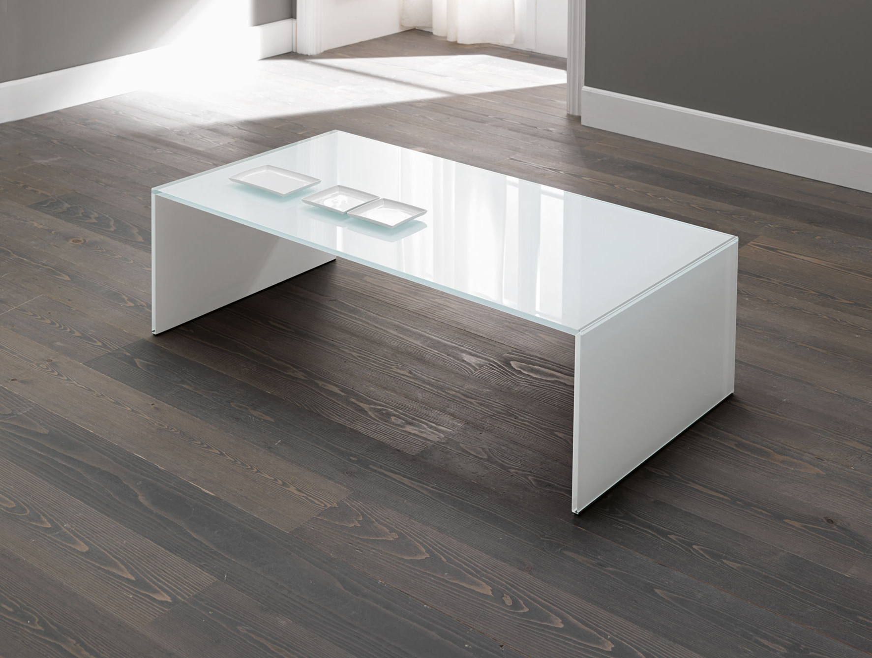 Modern Acrylic Coffee Tables For Most Current Acrylic Modern Coffee Table : The Holland – Modern Coffee Table (View 12 of 20)