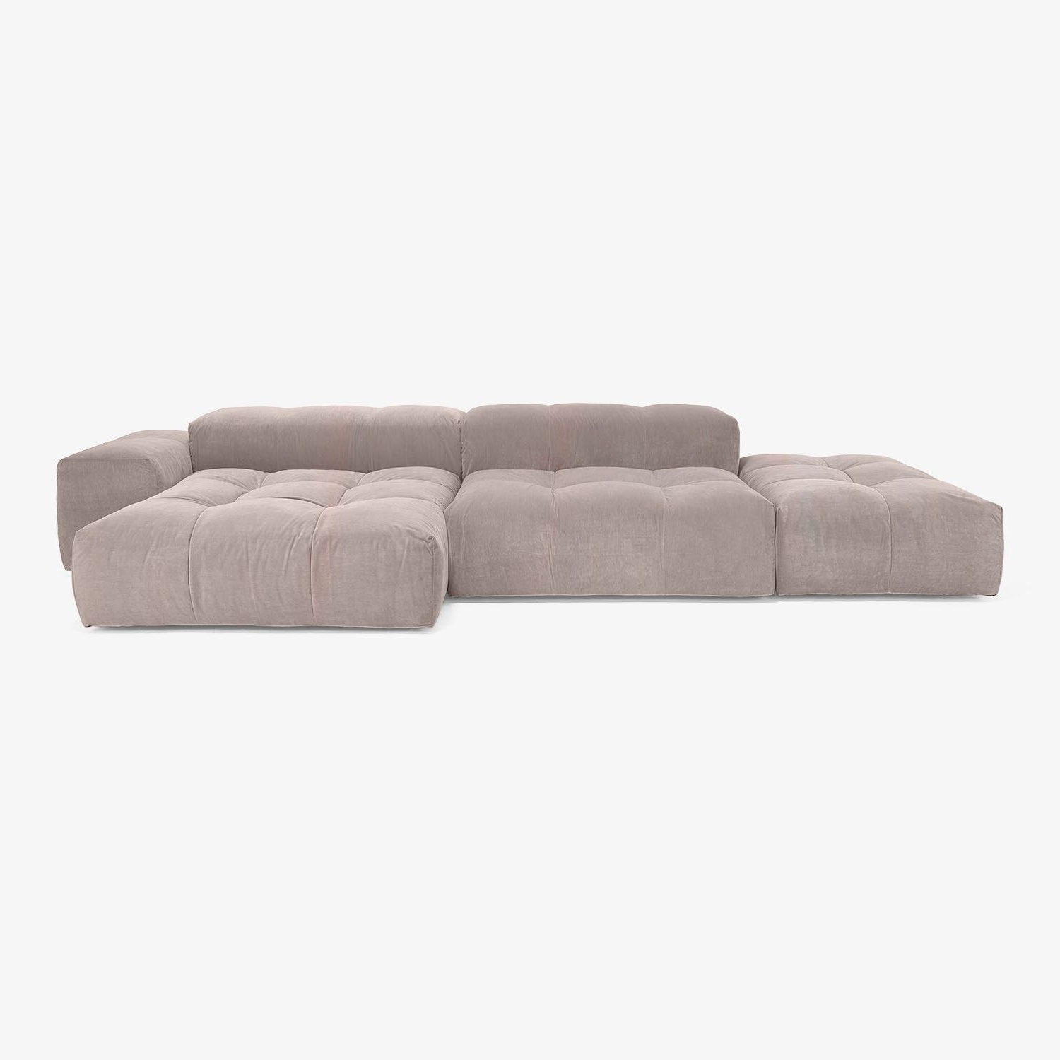 Modern Sectional Sofas For Apartments At Abc Home & Carpet With Most Up To Date Harper Down 3 Piece Sectionals (View 9 of 20)