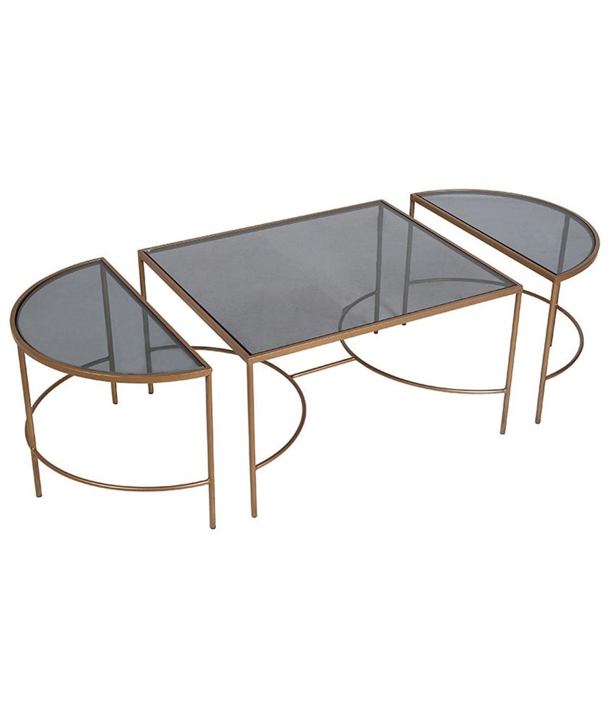 Modular Coffee Tables Intended For Most Recent Modular Glass Top Oblong Coffee Table (Gallery 20 of 20)