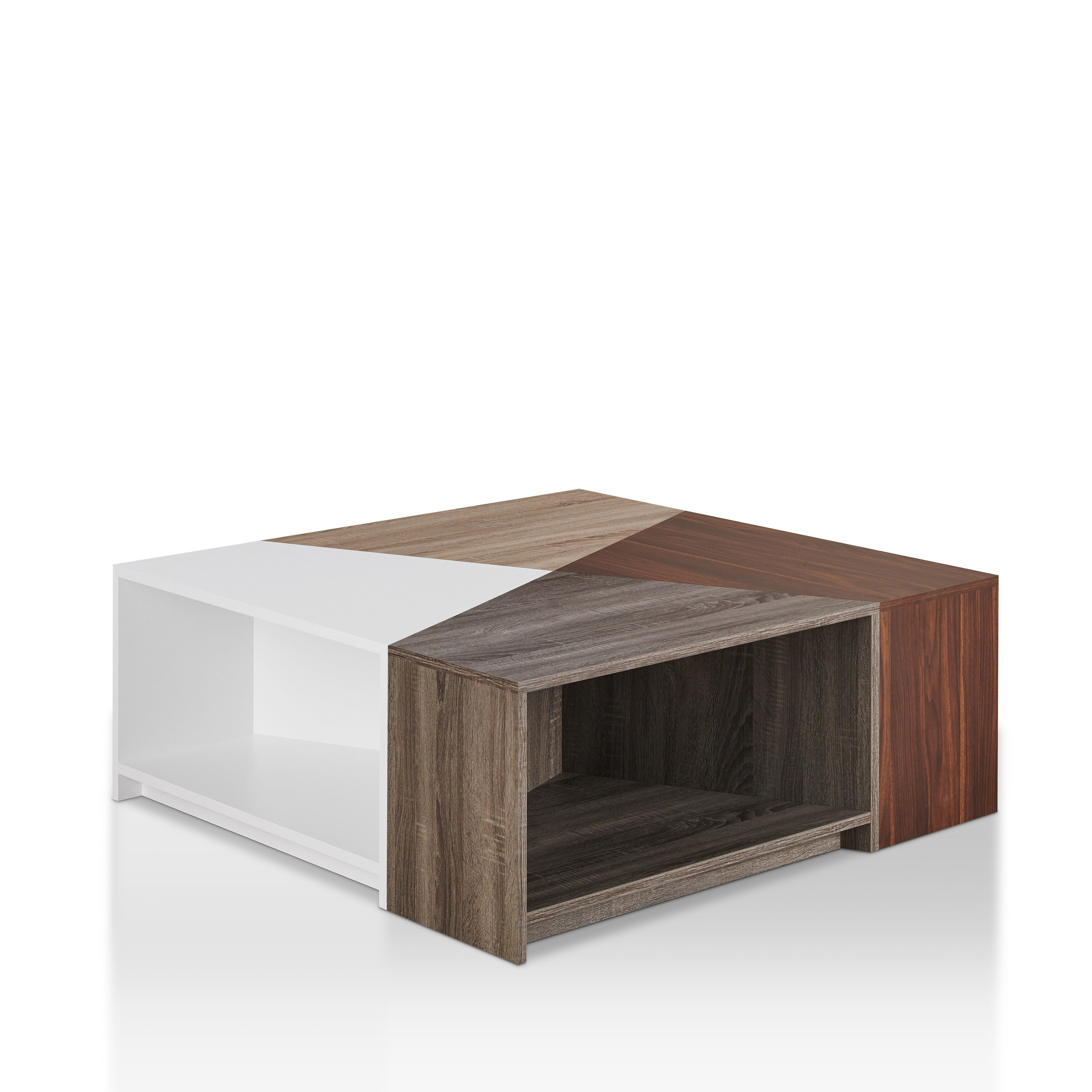 Modular Coffee Tables Within Most Recent Shop Furniture Of America Deron Contemporary Multi Colored Modular (View 18 of 20)
