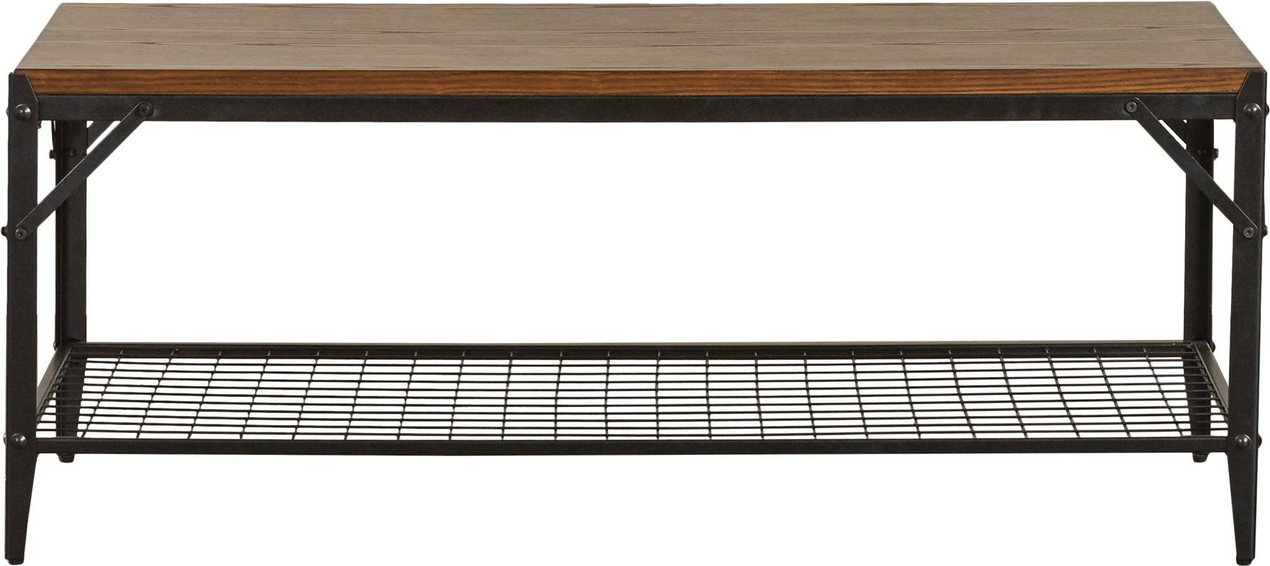 Moraga Live Edge 8 Door Sideboards Throughout Trendy Trent Austin Design Moraga 3 Piece Coffee Table Set & Reviews (View 18 of 20)