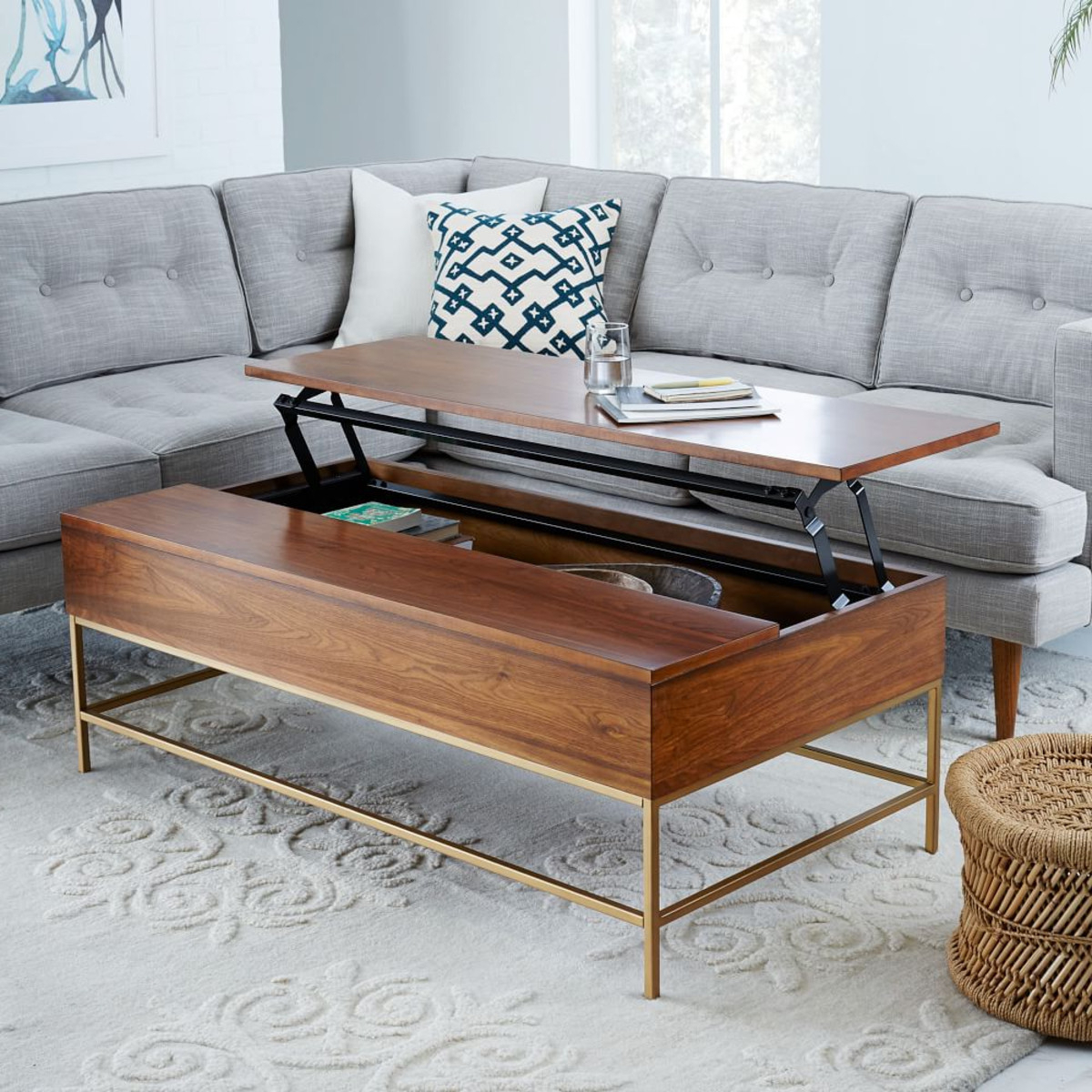 Most Current 8 Best Coffee Tables For Small Spaces Regarding Cara Cocktail Tables (View 13 of 20)