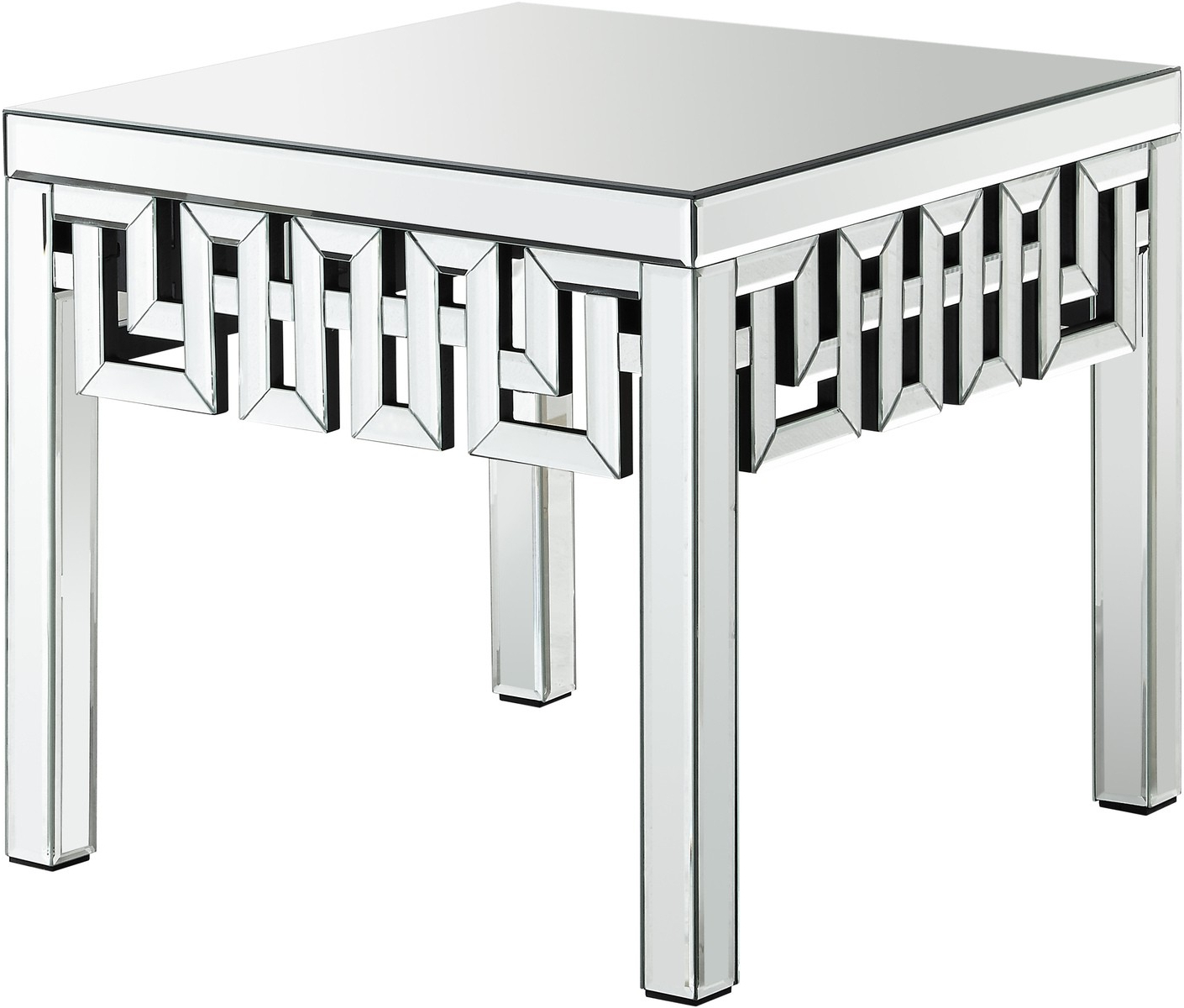 Most Current Aria Lift Top Cocktail Tables In Meridian Meridian Aria Mirrored 3 Piece Occasional Table Set – Aria (View 14 of 20)
