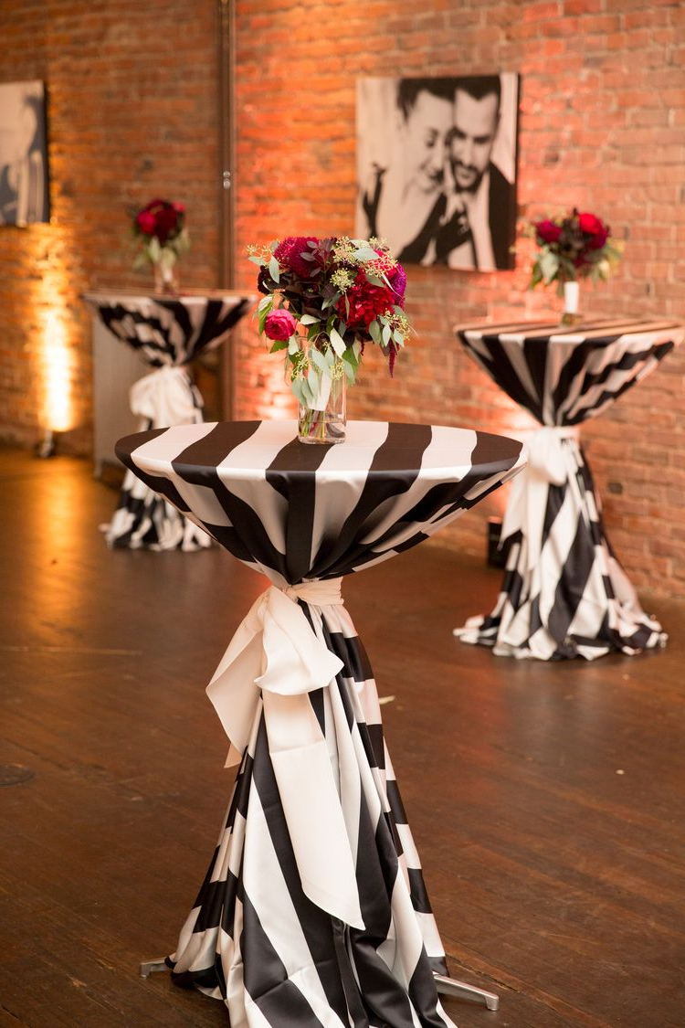 Most Current Axis Cocktail Tables Intended For Black And White Cocktail Table Linens (View 12 of 20)