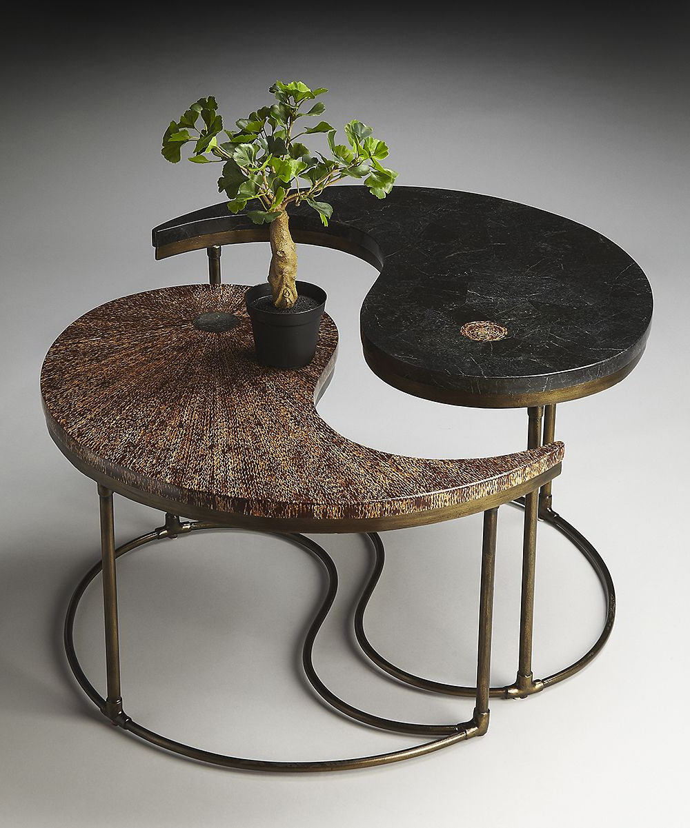 Most Current Combs Cocktail Tables Throughout Yin Yang Cocktail Table Love The Bonsai Treeanother Thing I Love (View 9 of 20)