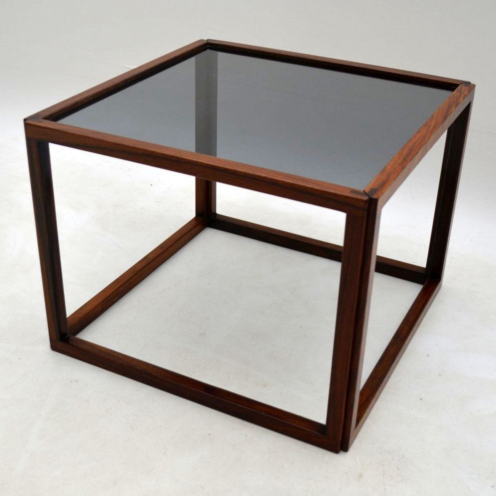 Most Current Danish Retro Rosewood Cube Coffee Tablekai Kristiansen Vintage With Kai Small Coffee Tables (View 16 of 20)