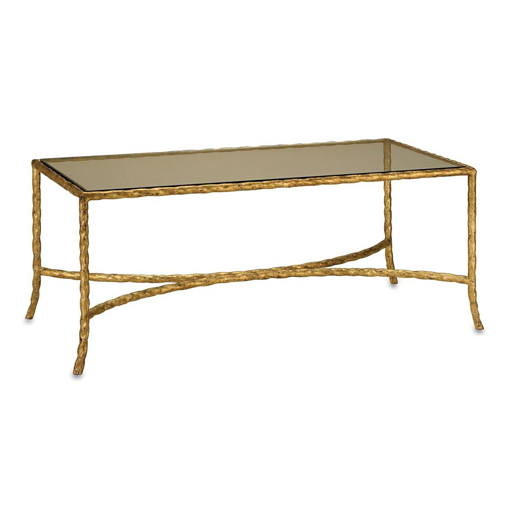 Most Current Gilt Twist French Deco Antique Gold Leaf Glass Coffee Table Inside Gold Leaf Collection Coffee Tables (View 7 of 20)