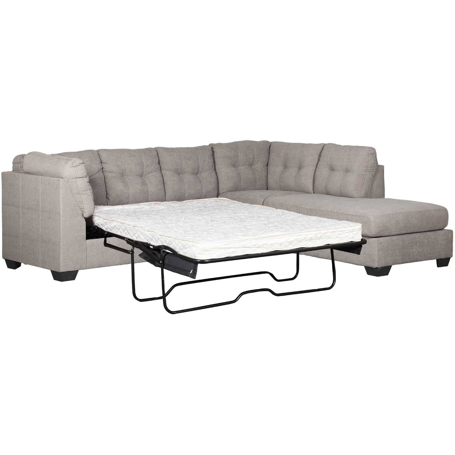 Most Current Lucy Grey 2 Piece Sleeper Sectionals With Raf Chaise With Sleeper Sectional (View 14 of 20)