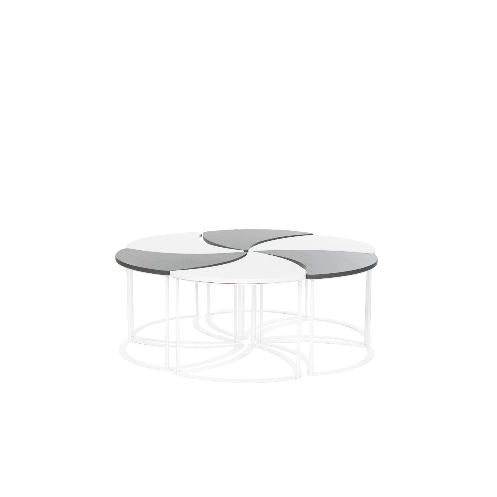 Most Current Modular Coffee Tables With Shop Modern Outdoor Modular Coffee Table – Free Shipping Today (View 13 of 20)