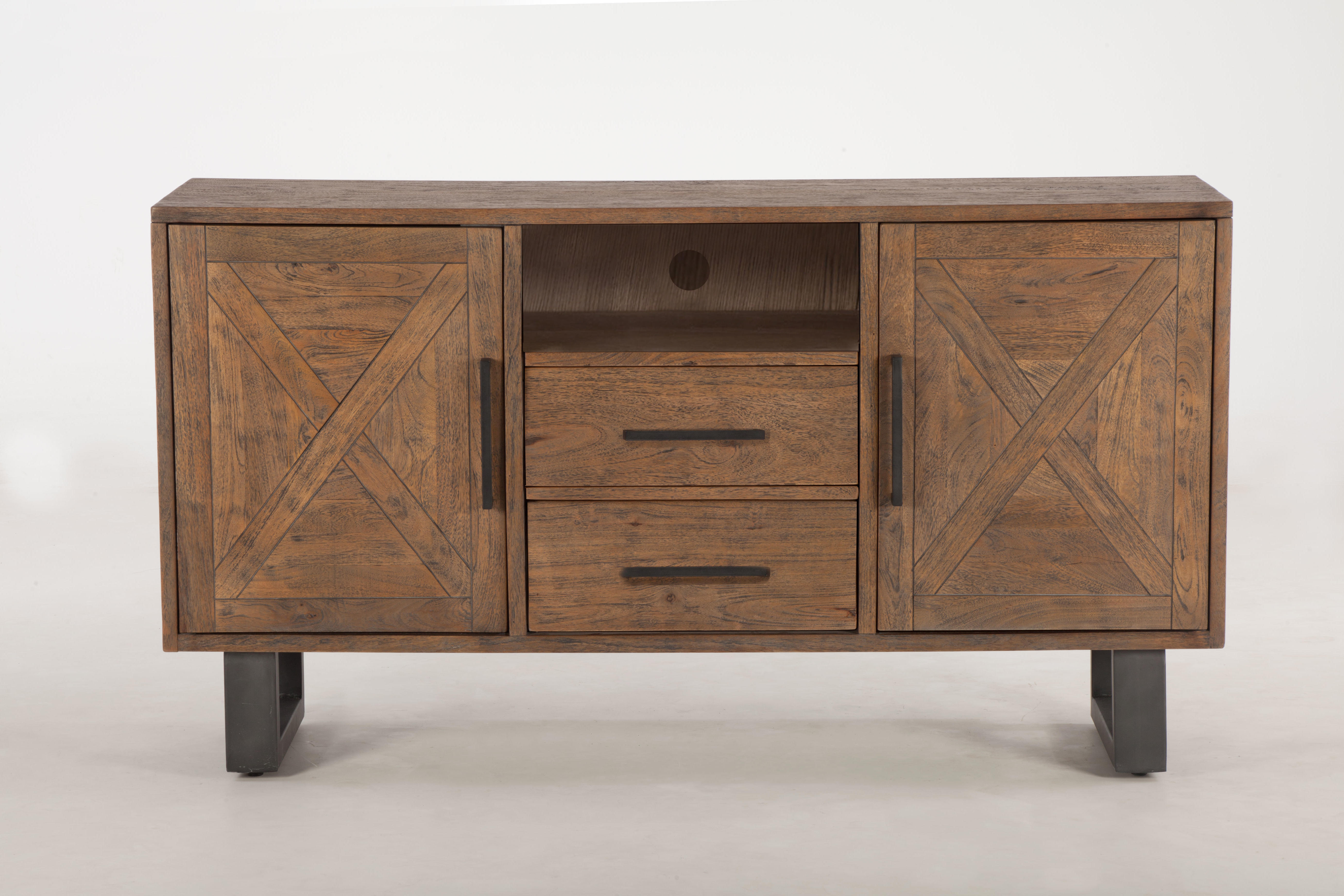 Most Current Natural Mango Wood Finish Sideboards In World Interiors Costa Mesa Mango Wood Sideboard (View 2 of 20)