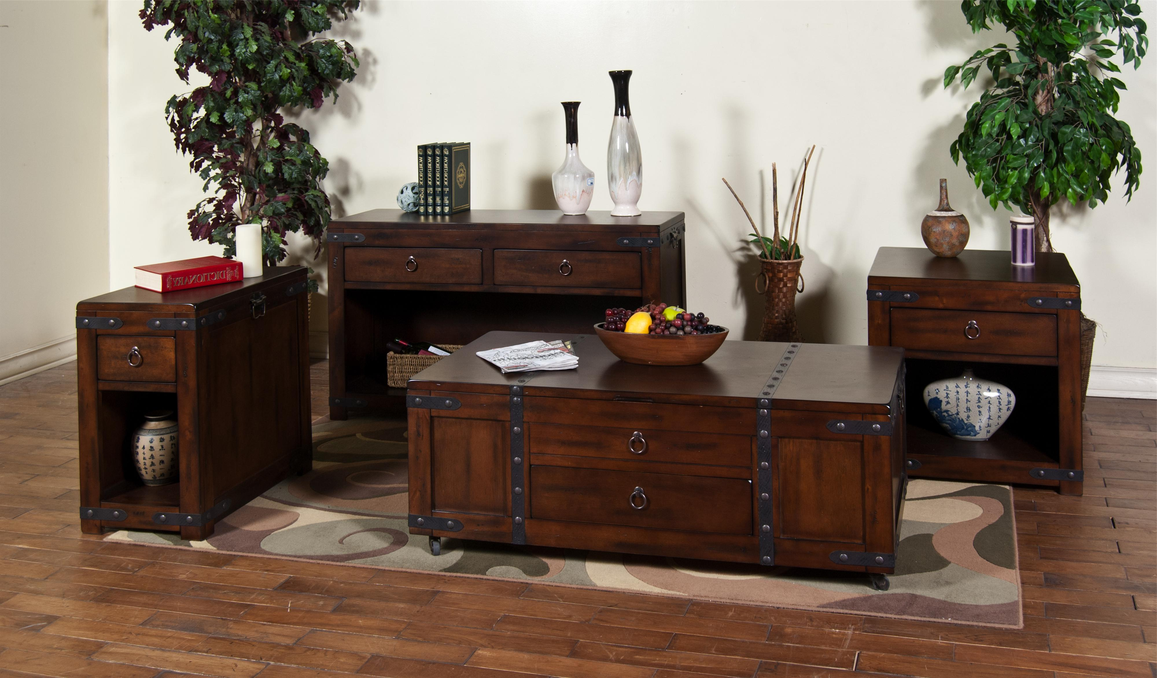 Most Current Santa Fe Coffee Tables With Santa Fe (Dc)Sunny Designs – Sadler's Home Furnishings – Sunny (View 4 of 20)