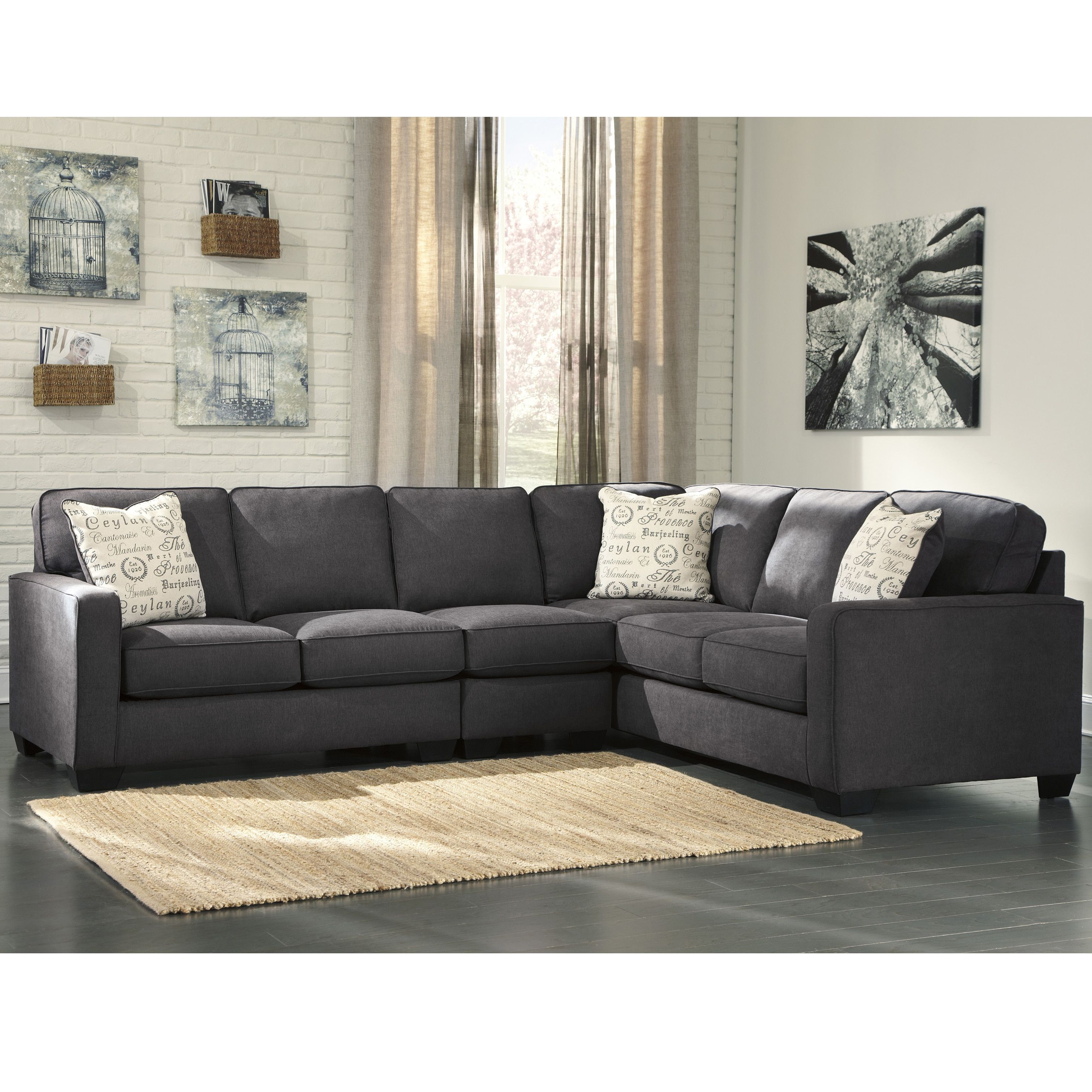 Most Current Signature Designashley Alenya 3 Piece Laf Sofa Sectional In For Marissa Ii 3 Piece Sectionals (View 18 of 20)