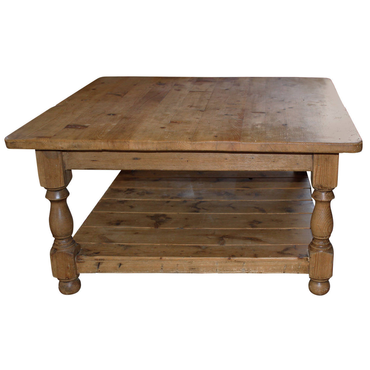 Most Current Vintage English Pine Coffee Table At 1stdibs With Regard To Antique Pine Coffee Tables (View 15 of 20)