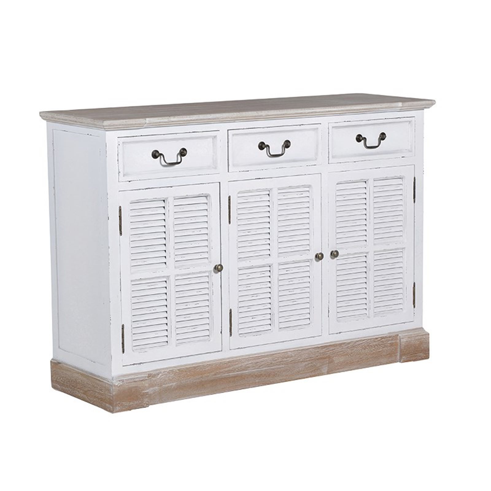 Most Current White Wash 3 Door 3 Drawer Sideboards Throughout Grosvenor 3 Door Sideboard (Gallery 20 of 20)