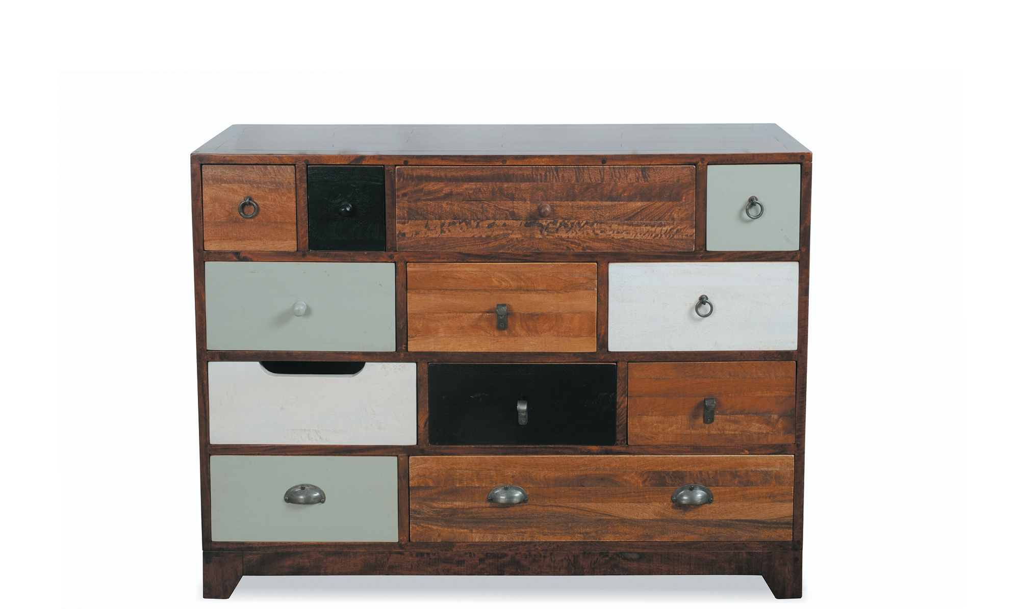 Most Popular Antique Walnut Finish 2 Door/4 Drawer Sideboards Regarding Sideboards – Modern, Oak & Pine Sideboards – Fishpools (View 14 of 20)