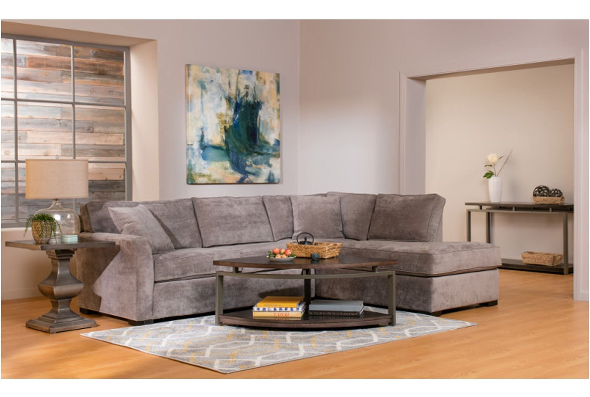 Most Popular Aspen 2 Piece Sectional W/laf Chaise In  (View 14 of 20)