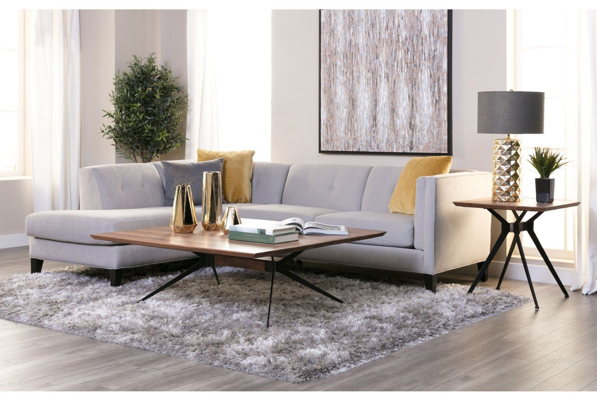 Most Popular Avery 2 Piece Sectional W/raf Armless Chaise (View 14 of 20)